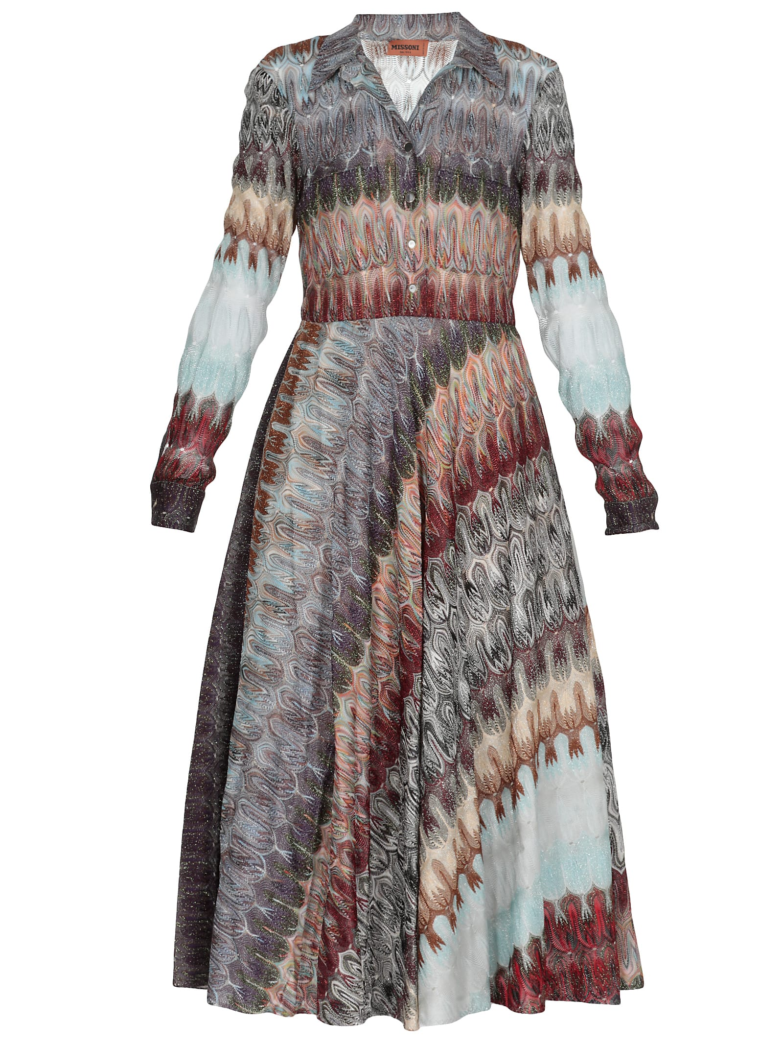 Buy Missoni Multicolor Dress online, shop Missoni with free shipping