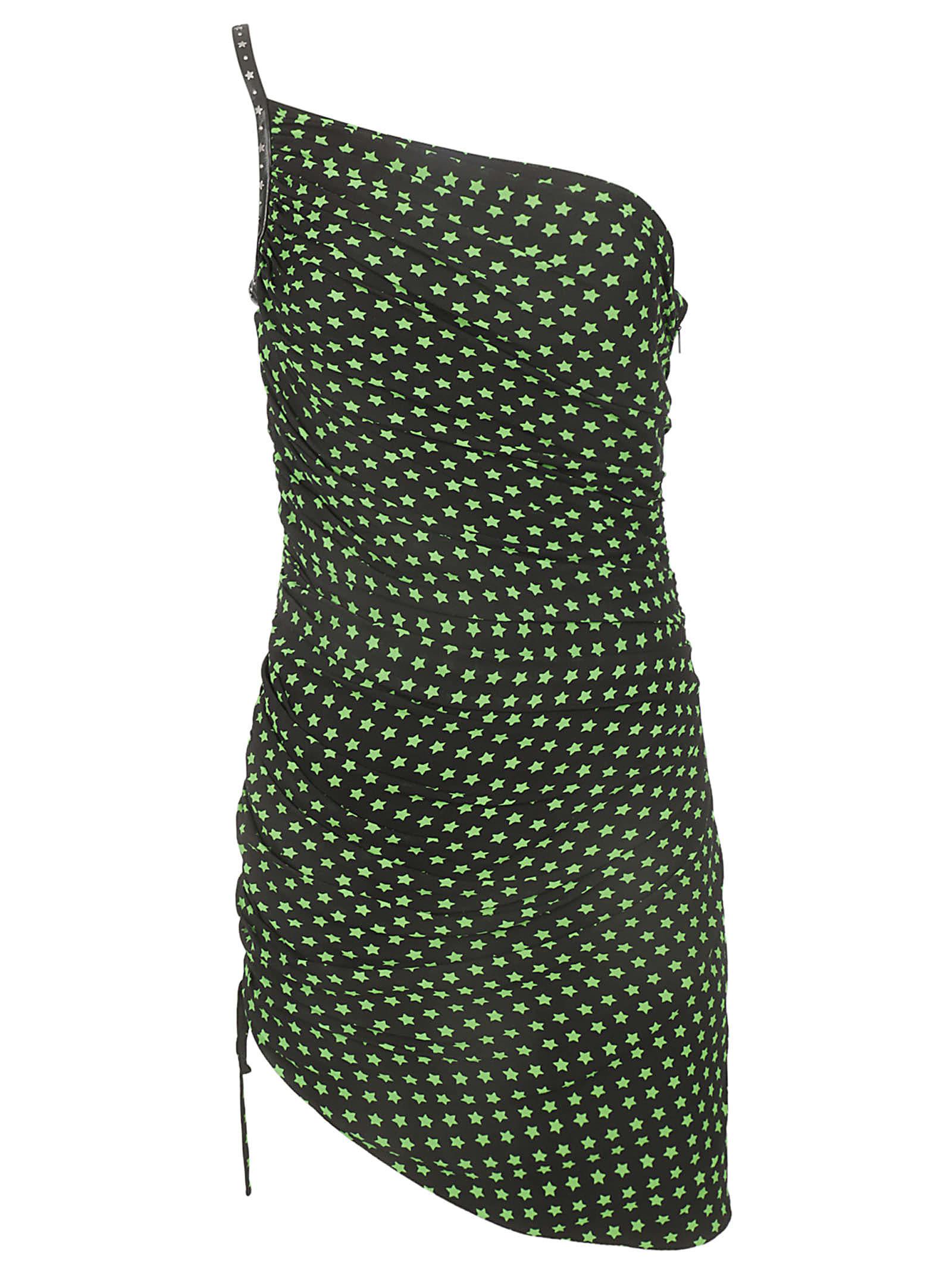 Saint Laurent Asymmetric Dress