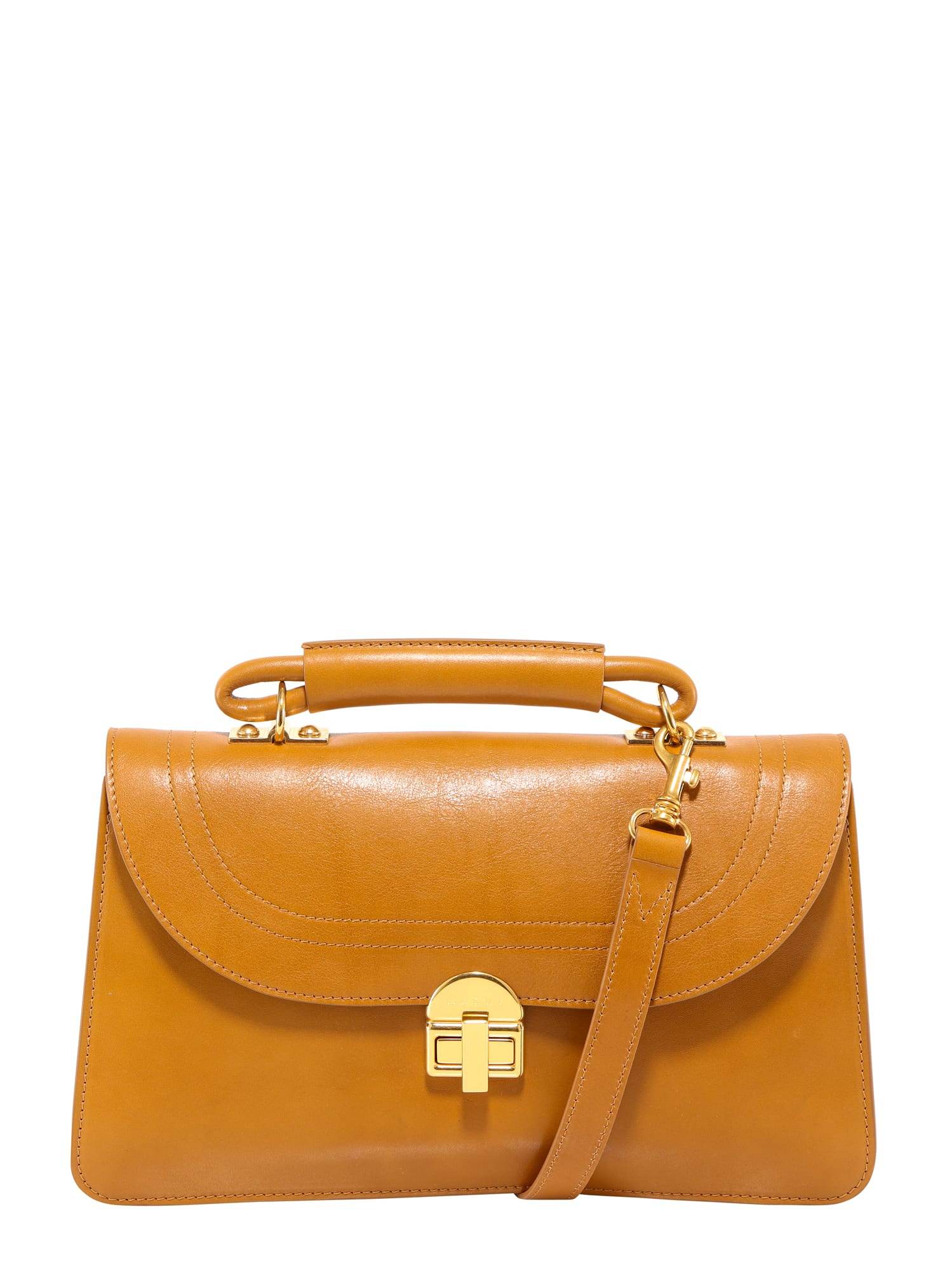 Marni Juliette Crossbody Bag In Brown