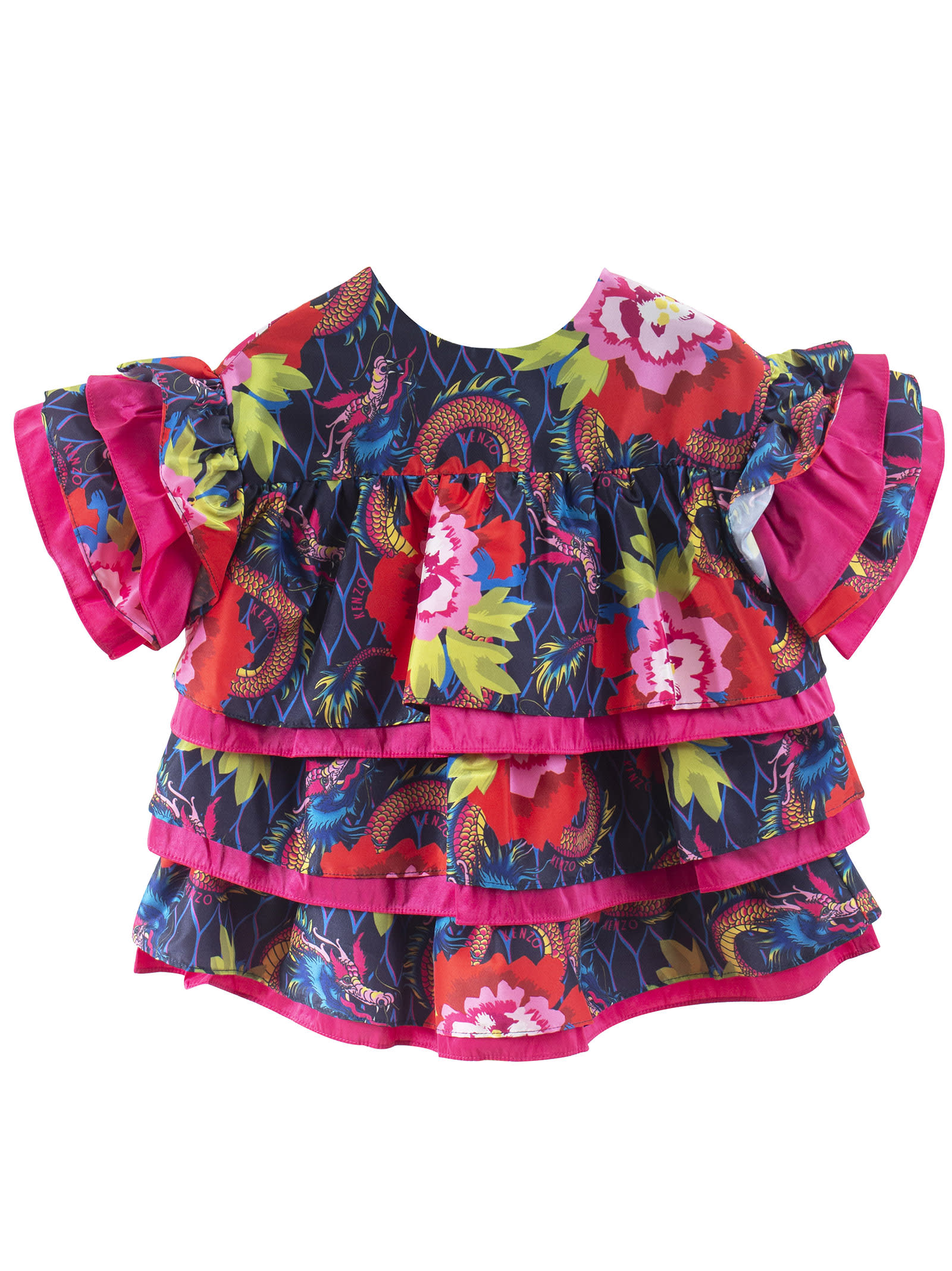 Kenzo Kids Flower Girl Dress