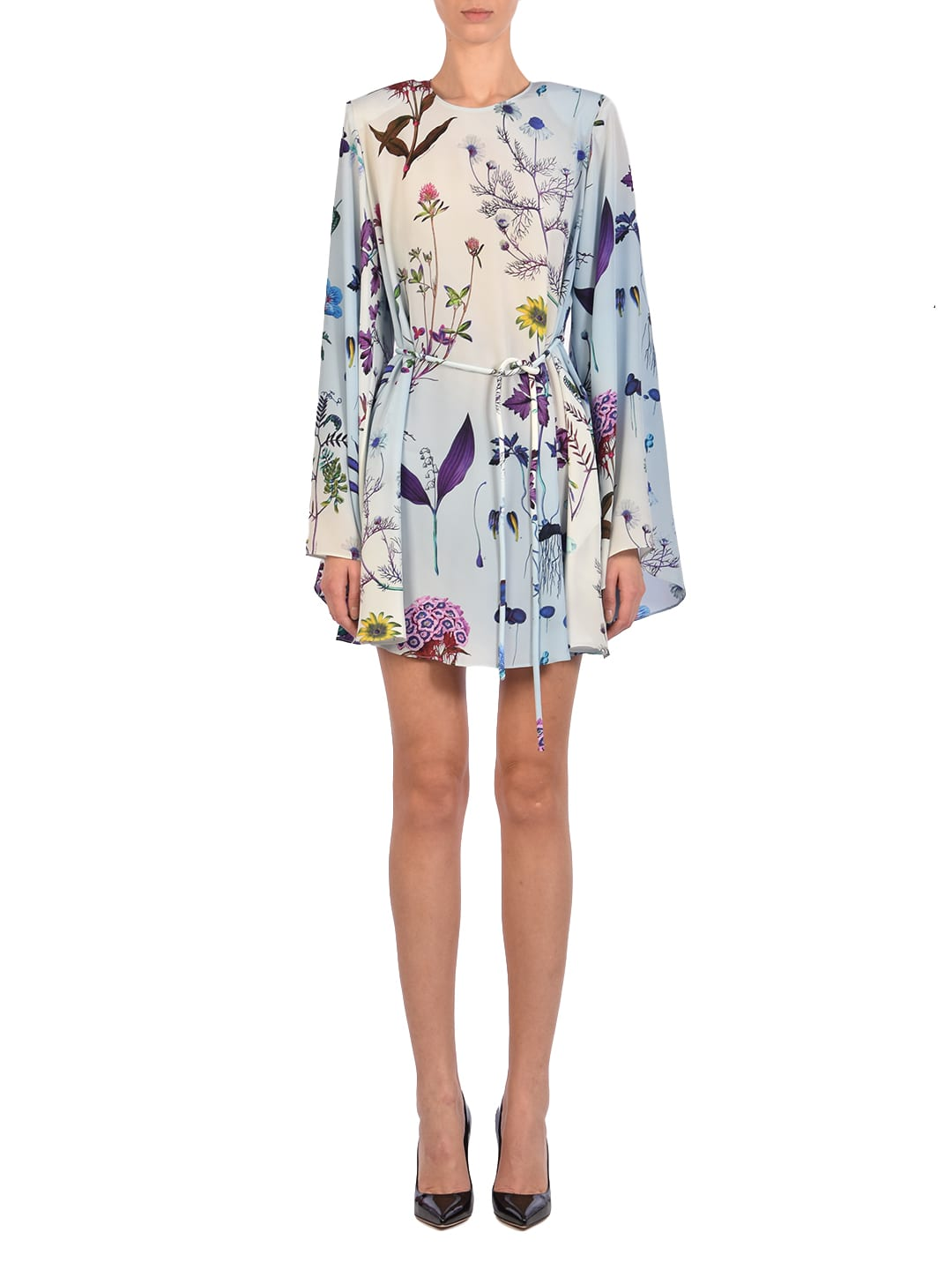 Buy Floral Mini Dress online, shop Stella McCartney with free shipping