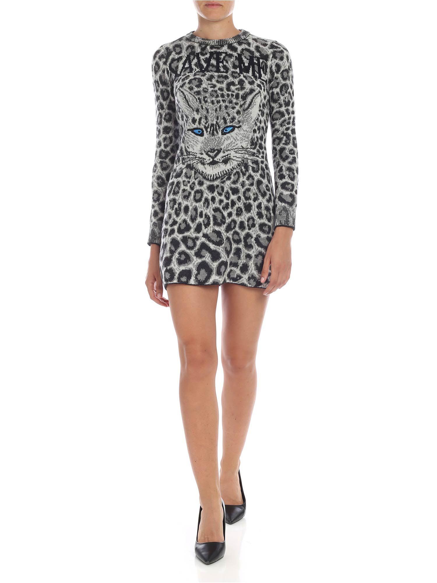 Buy Alberta Ferretti - Save Me Printed Dress online, shop Alberta Ferretti with free shipping