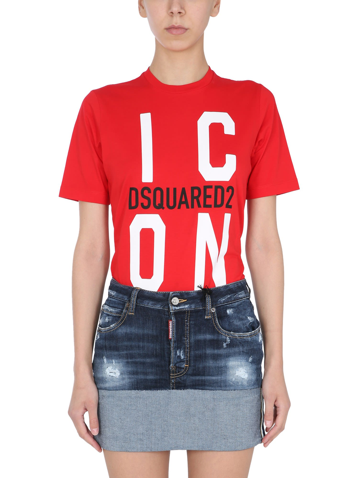 Dsquared2 Cottons ICON T-SHIRT