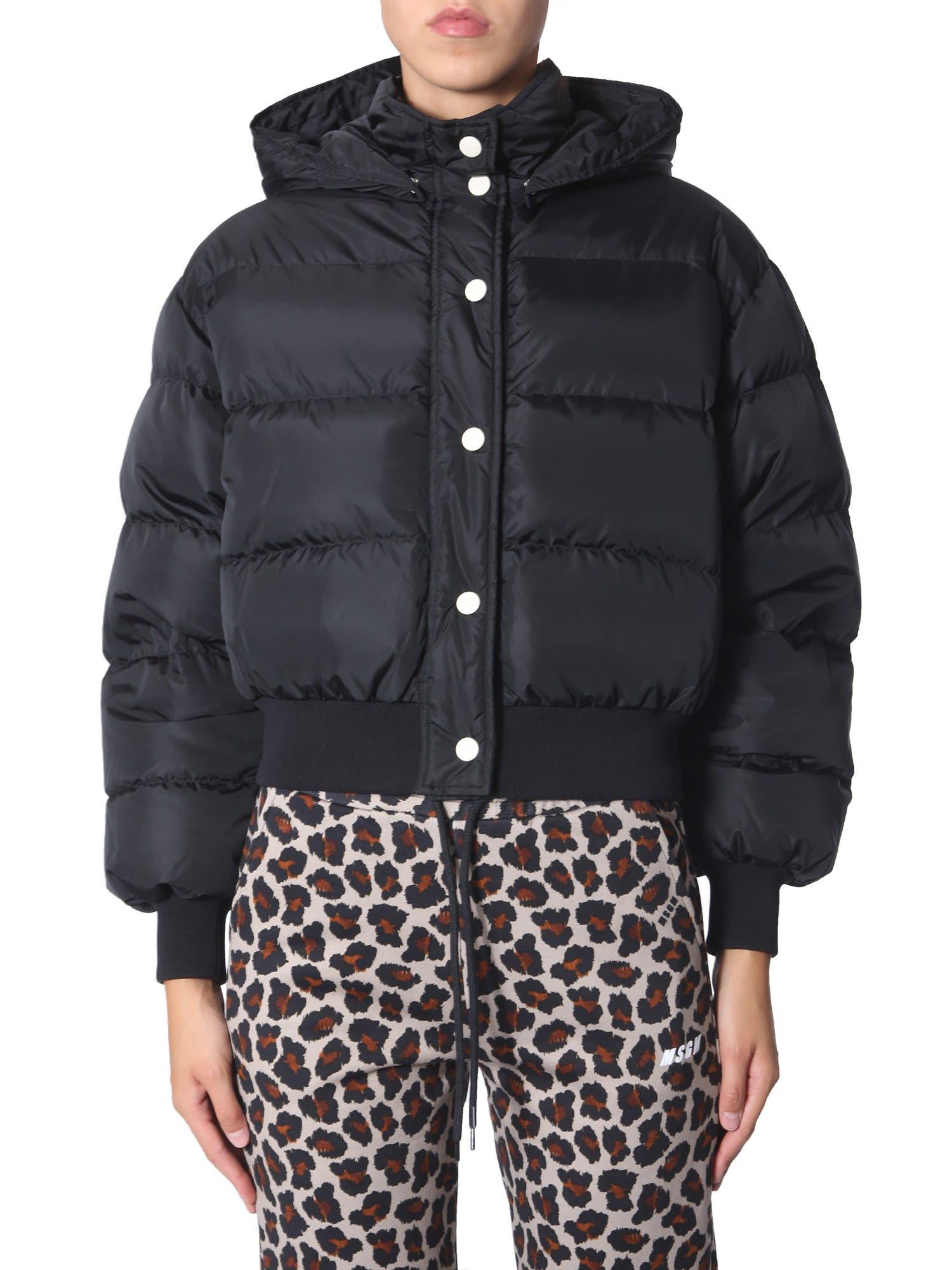 MSGM Short Down Jacket