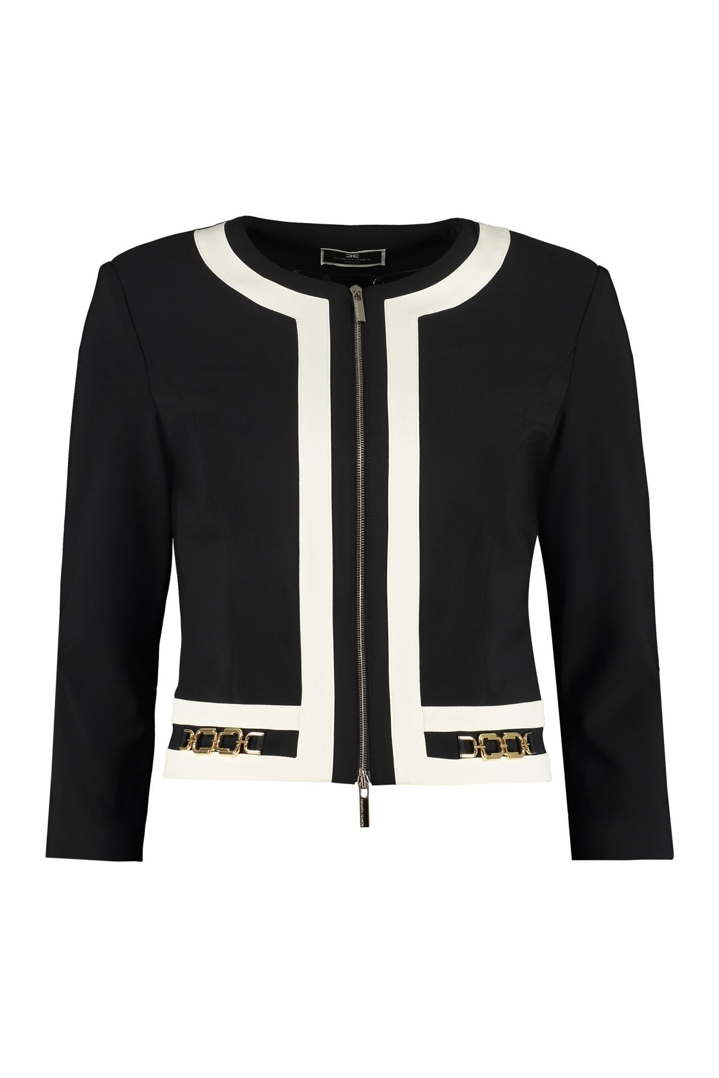 Full Zip Jacket Elisabetta Franchi