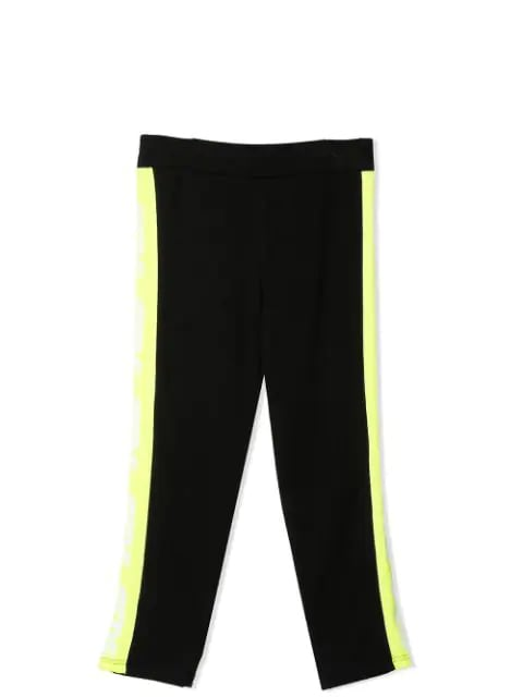 Leggings With Fluo Band