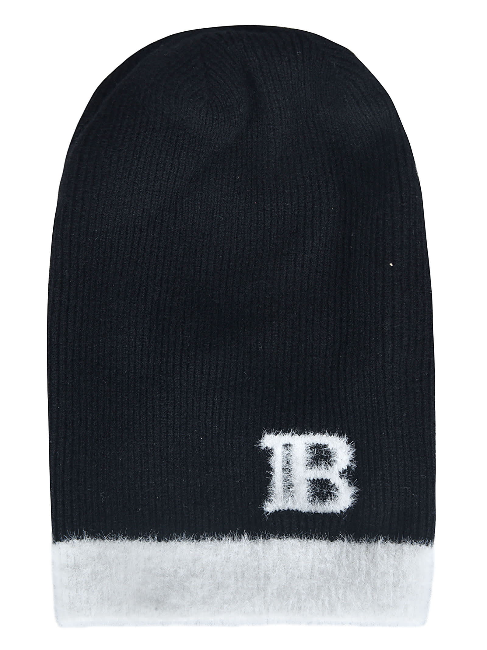 Balmain LOGO EMBROIDERED BEANIE