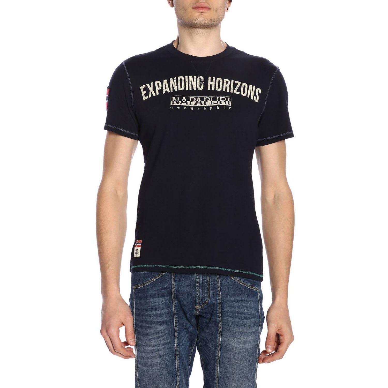 autentyczny niska cena sekcja specjalna Napapijri Napapijri T-shirt T-shirt Men Napapijri - blue ...
