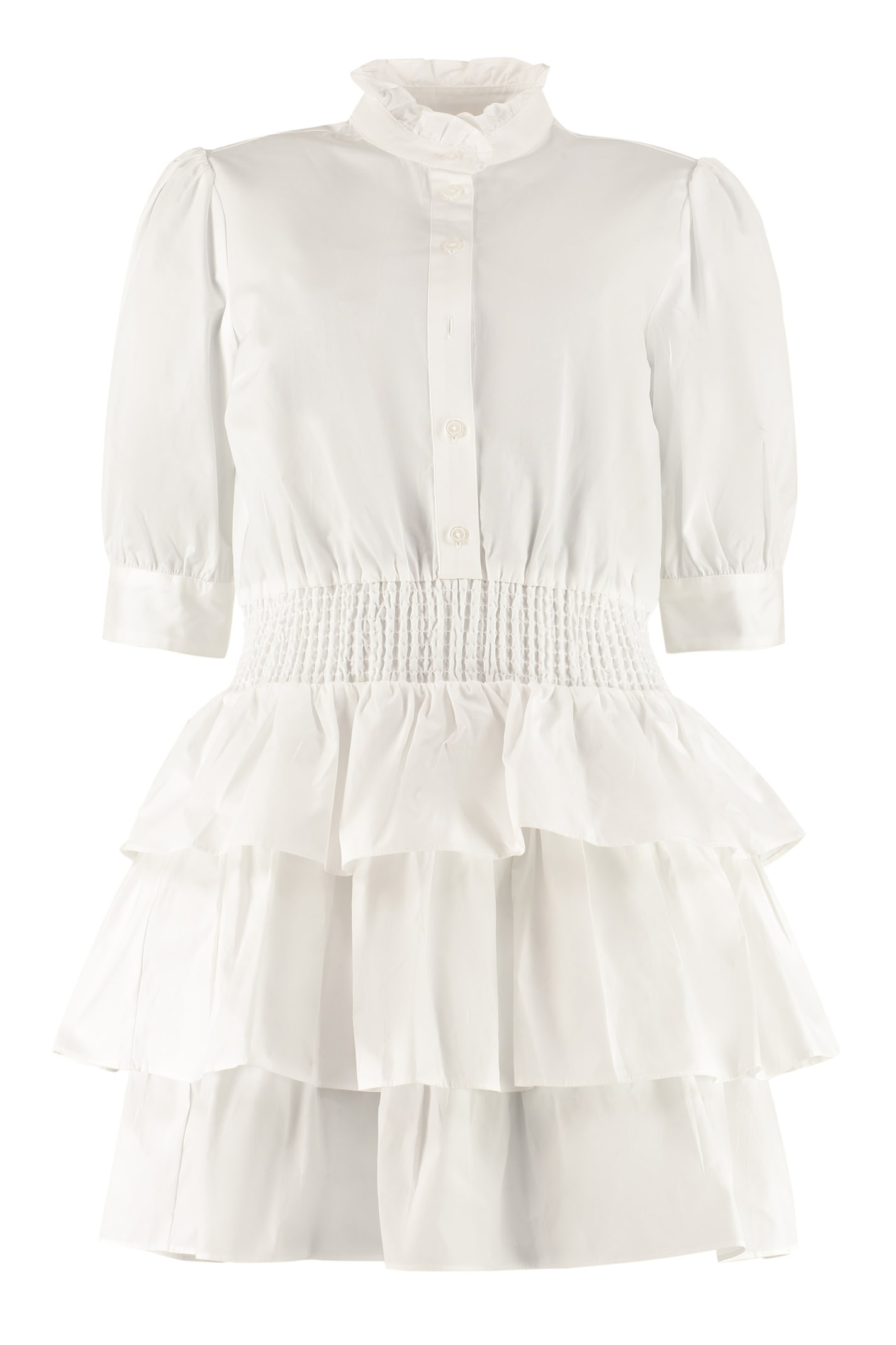 Buy MICHAEL Michael Kors Cotton Mini-dress online, shop MICHAEL Michael Kors with free shipping