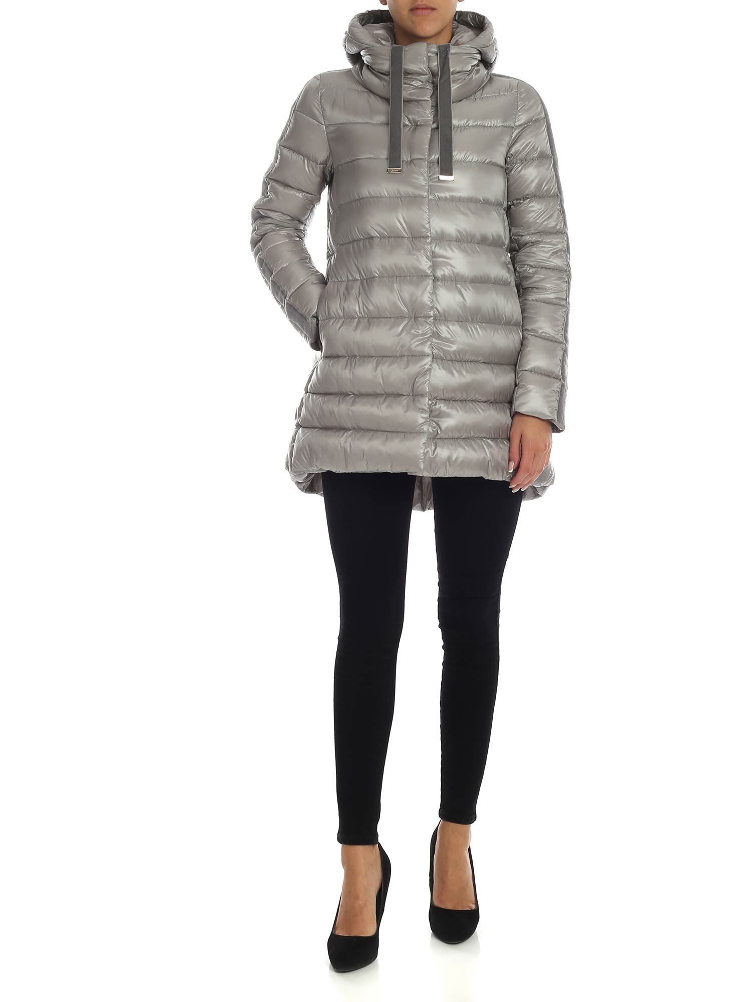 Herno – Down Jacket With Chenille Details
