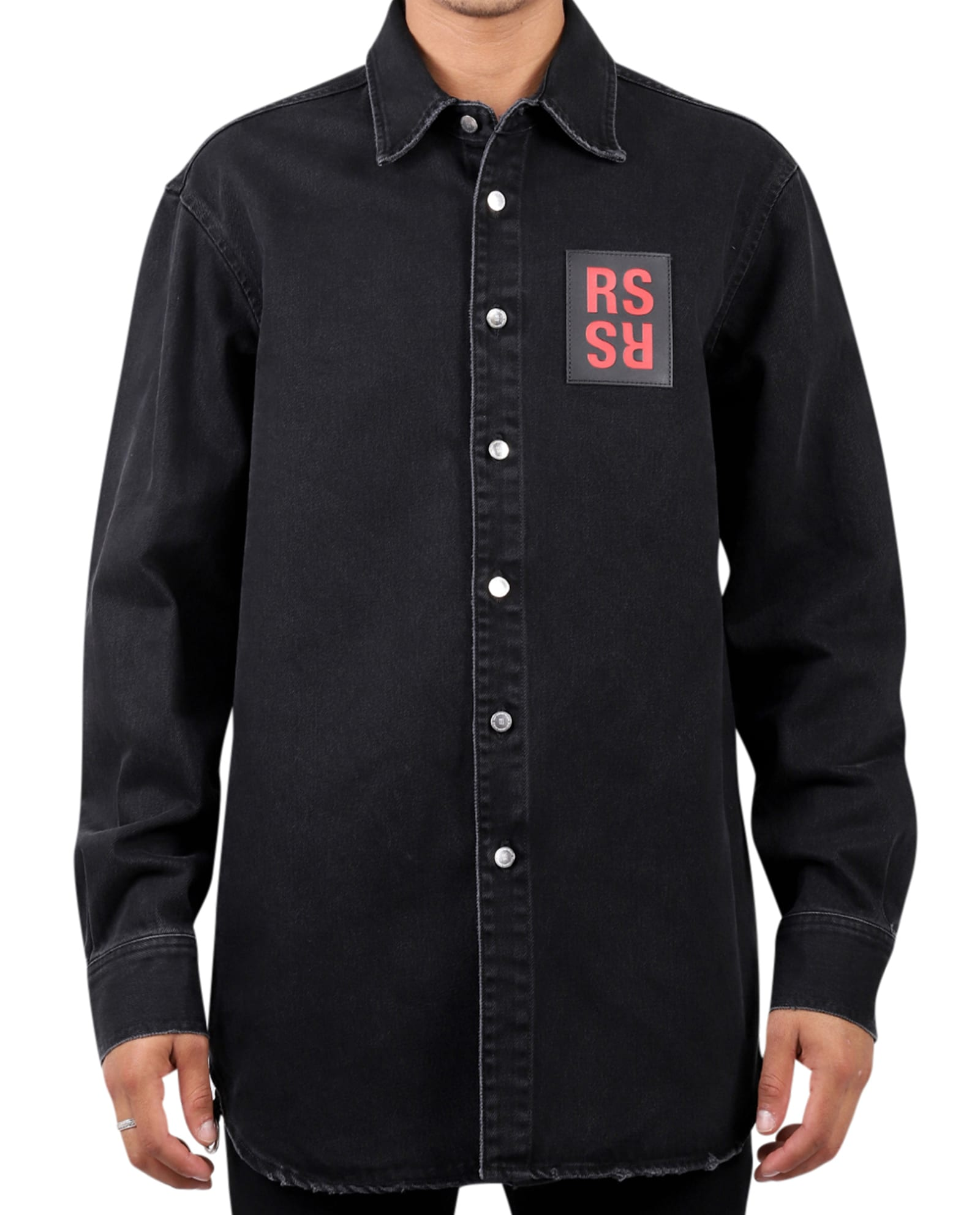 Raf Simons T-shirts BLACK SHIRT