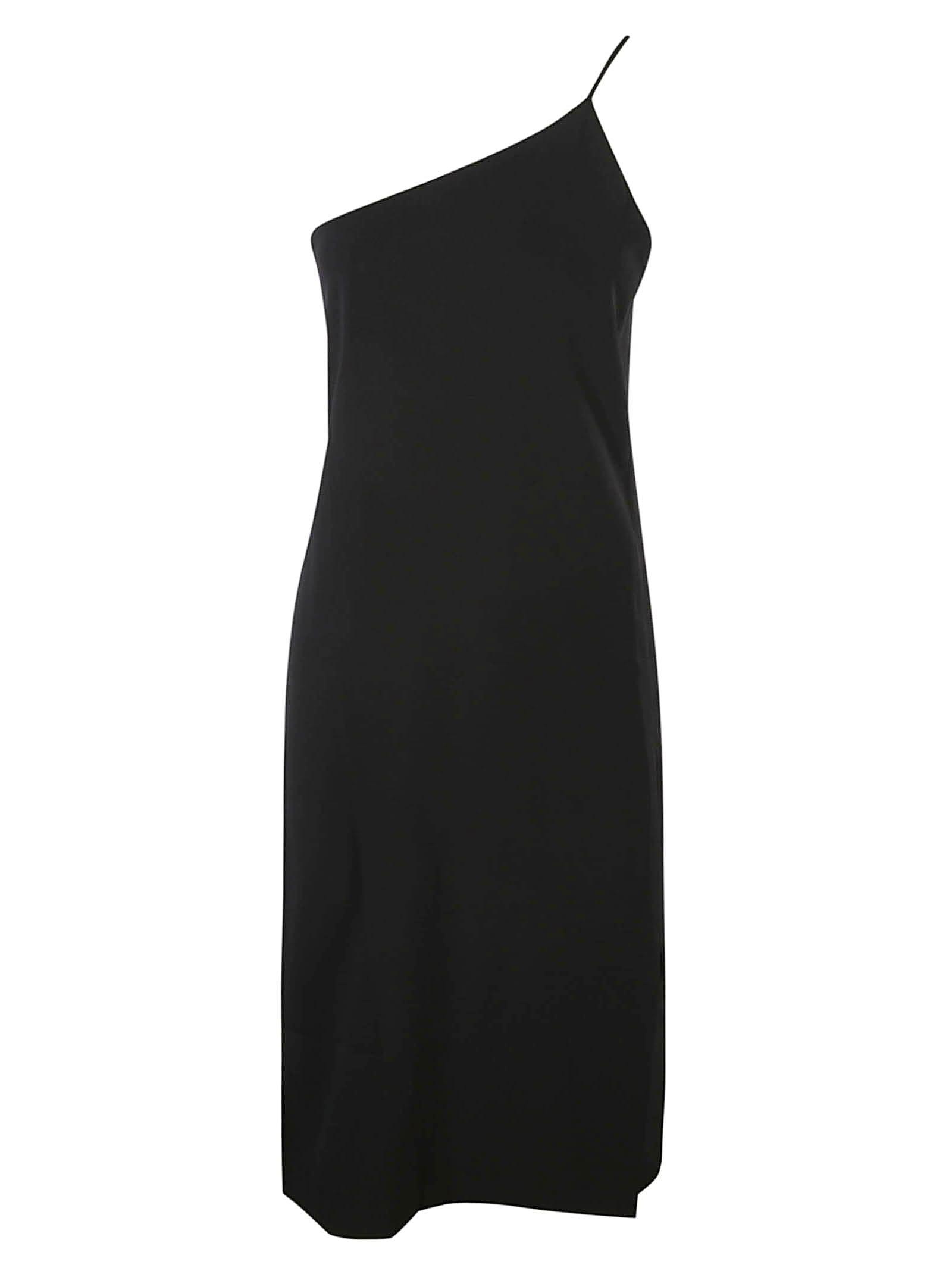 Acne Studios Asymmetric One-shoulder Slim Dress