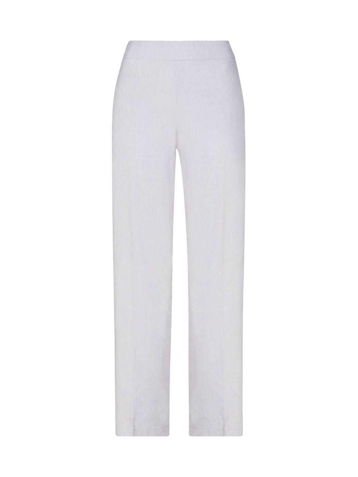 Long Stretch Linen Wide Leg Pants