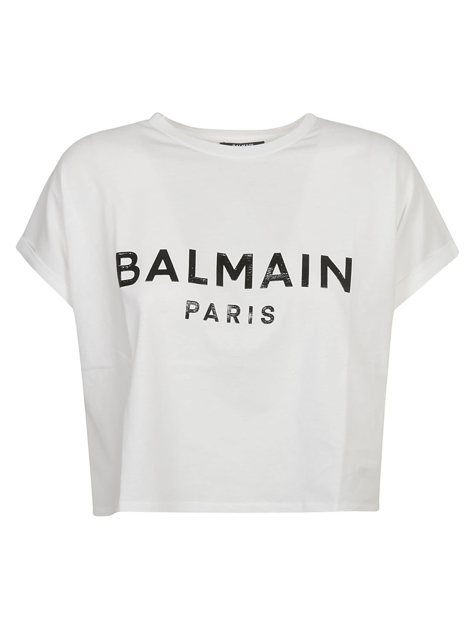 Balmain CROPPED T-SHIRT
