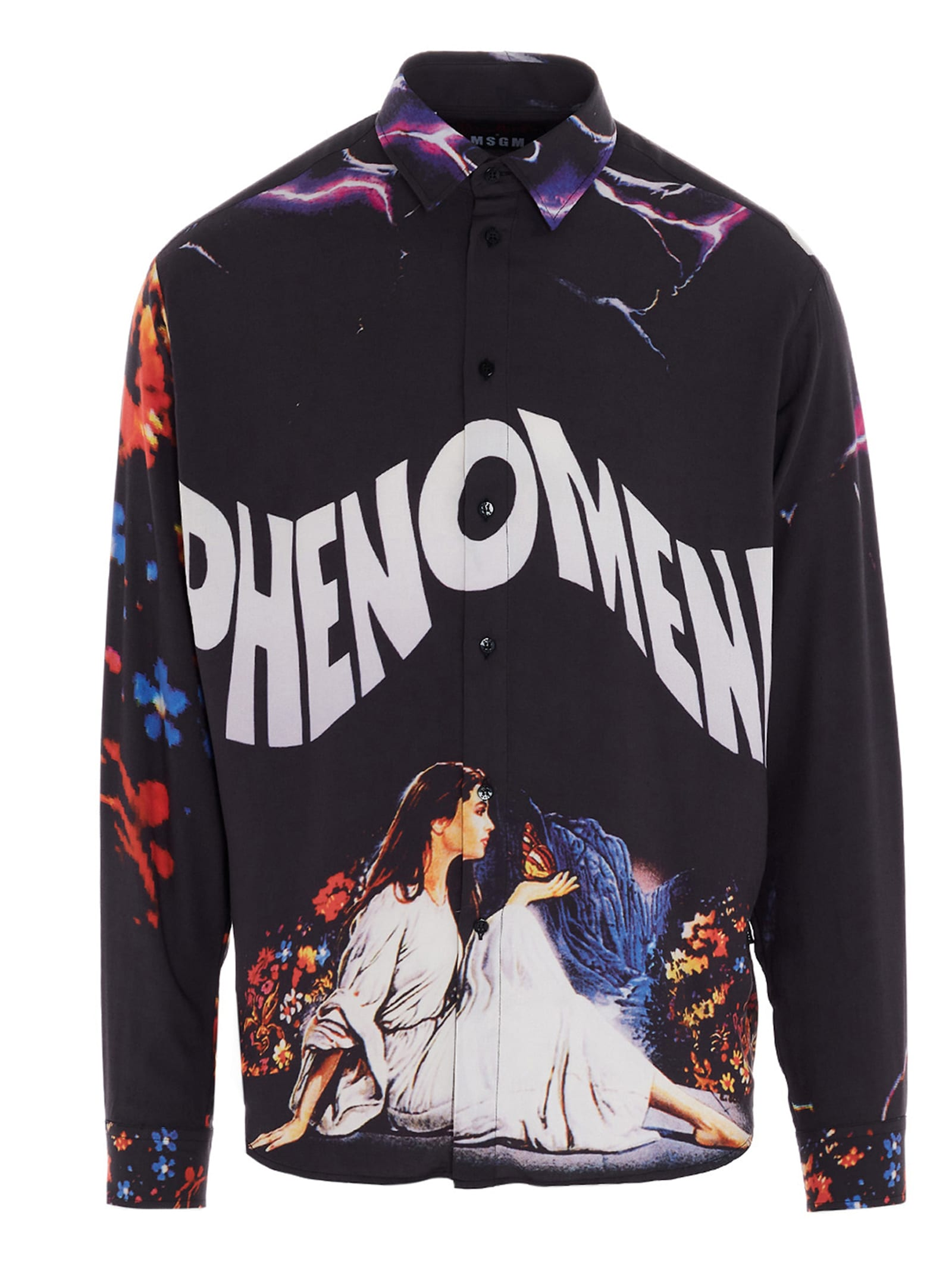 Msgm T-shirts MSGM PHENOMENA SHIRT