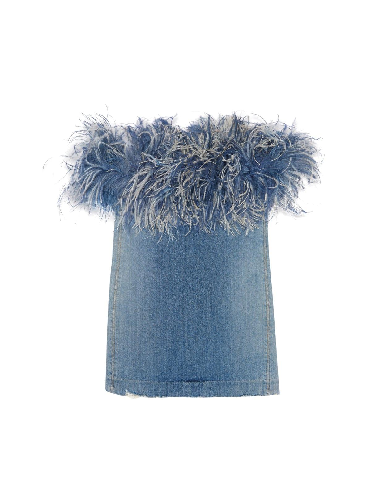 Buy Saint Laurent Feather Drs online, shop Saint Laurent with free shipping