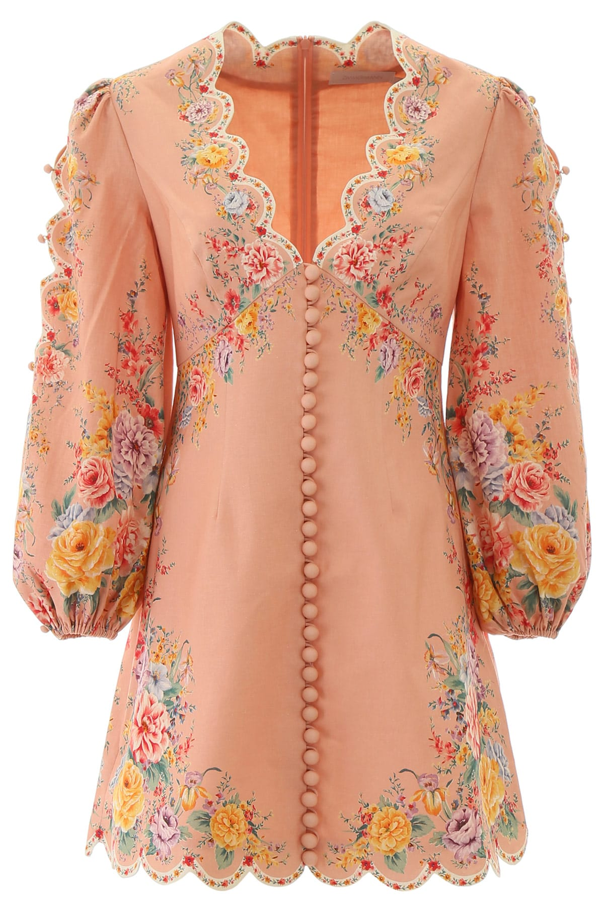 Buy Zimmermann Zinnia Mini Dress online, shop Zimmermann with free shipping