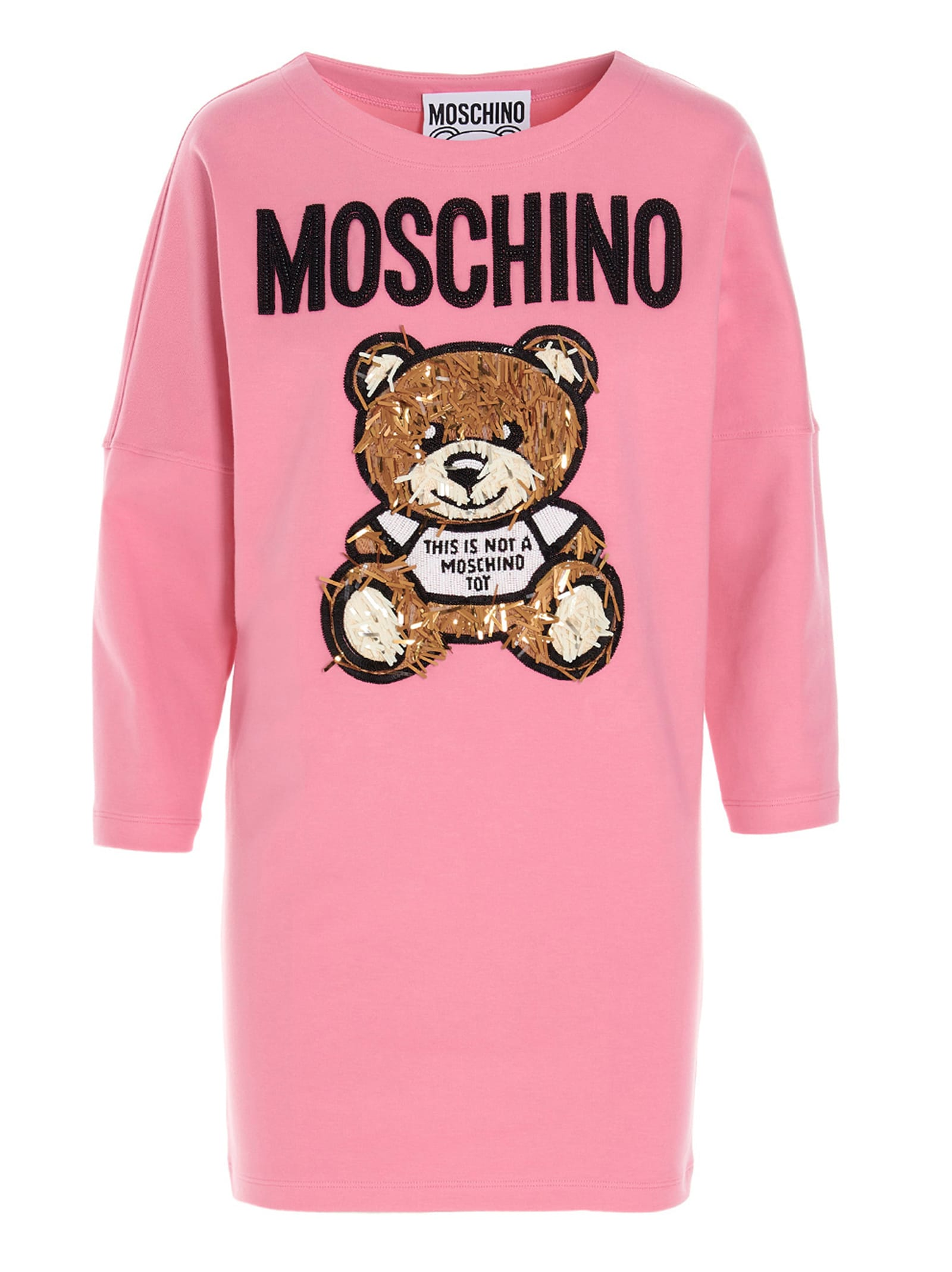 Moschino TEDDY ITALIA DRESS