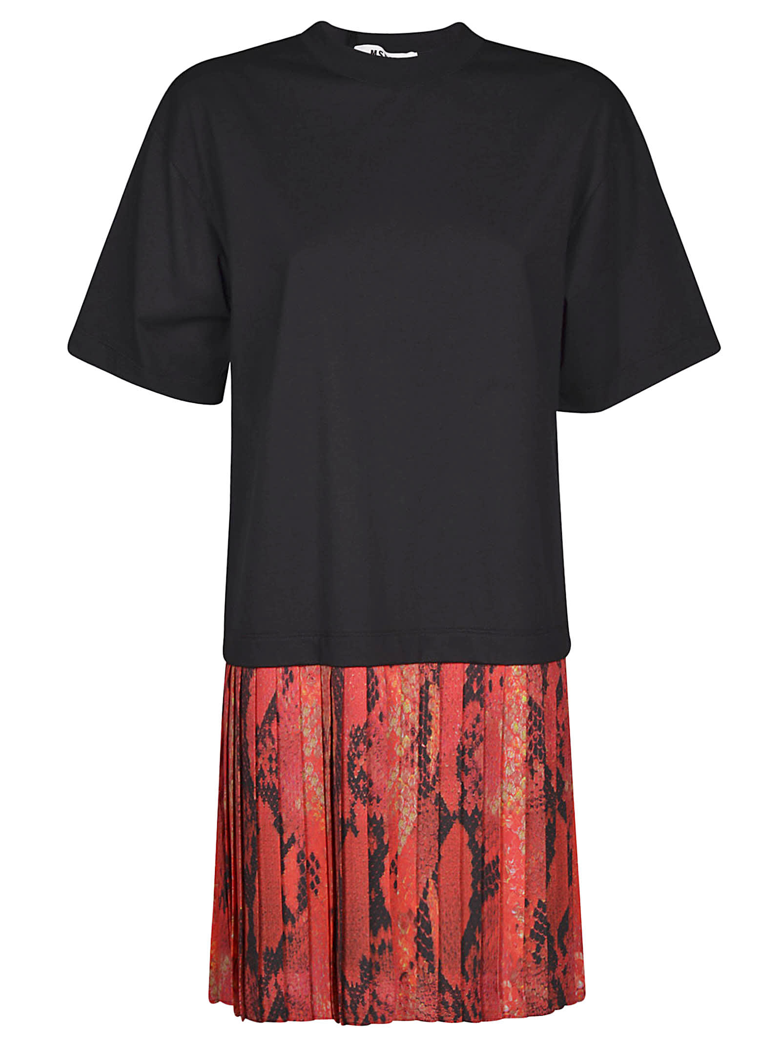 Buy MSGM Layered T-shirt Dress online, shop MSGM with free shipping