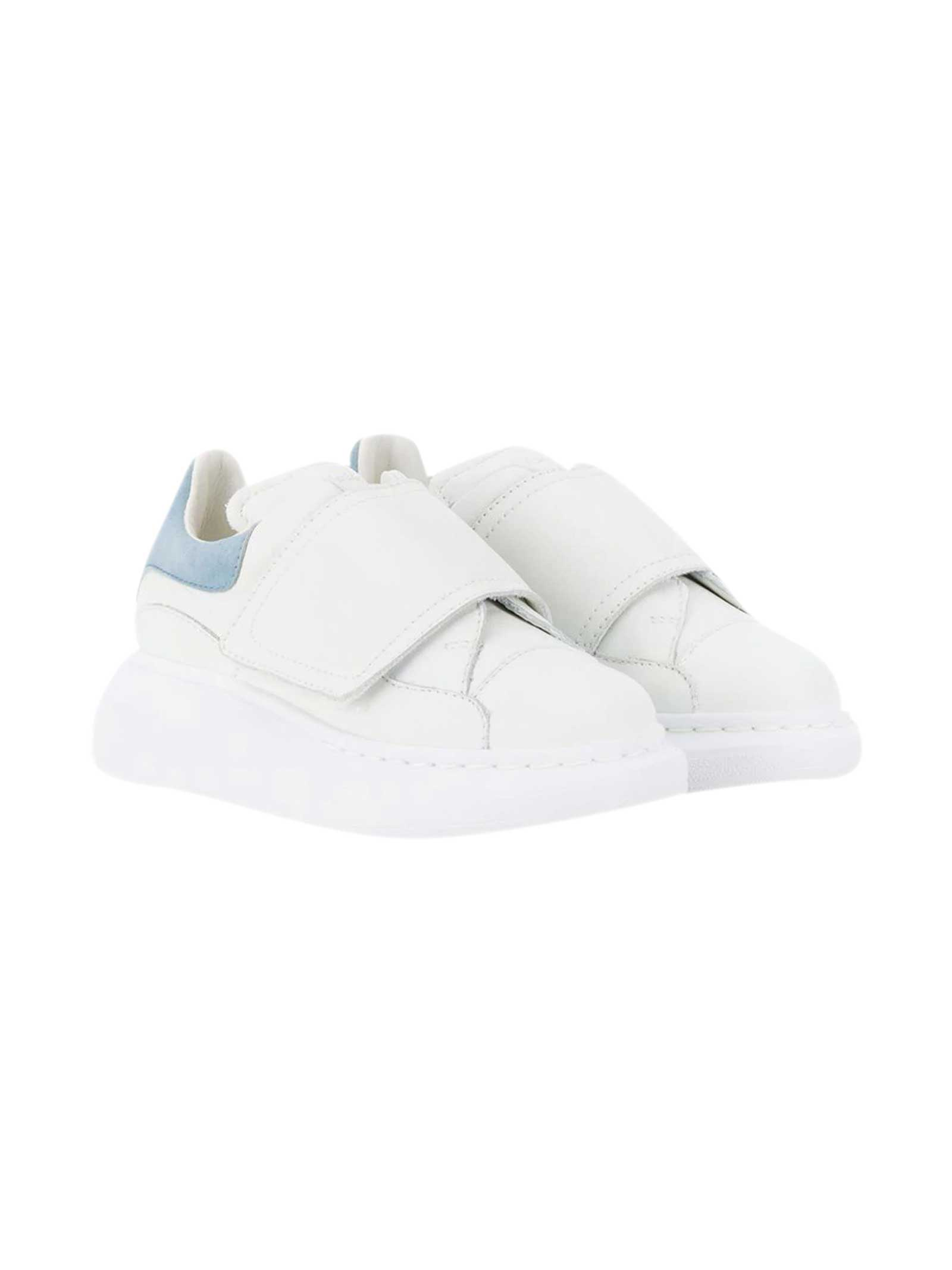 Alexander McQueen Sneakers Bianche Kids