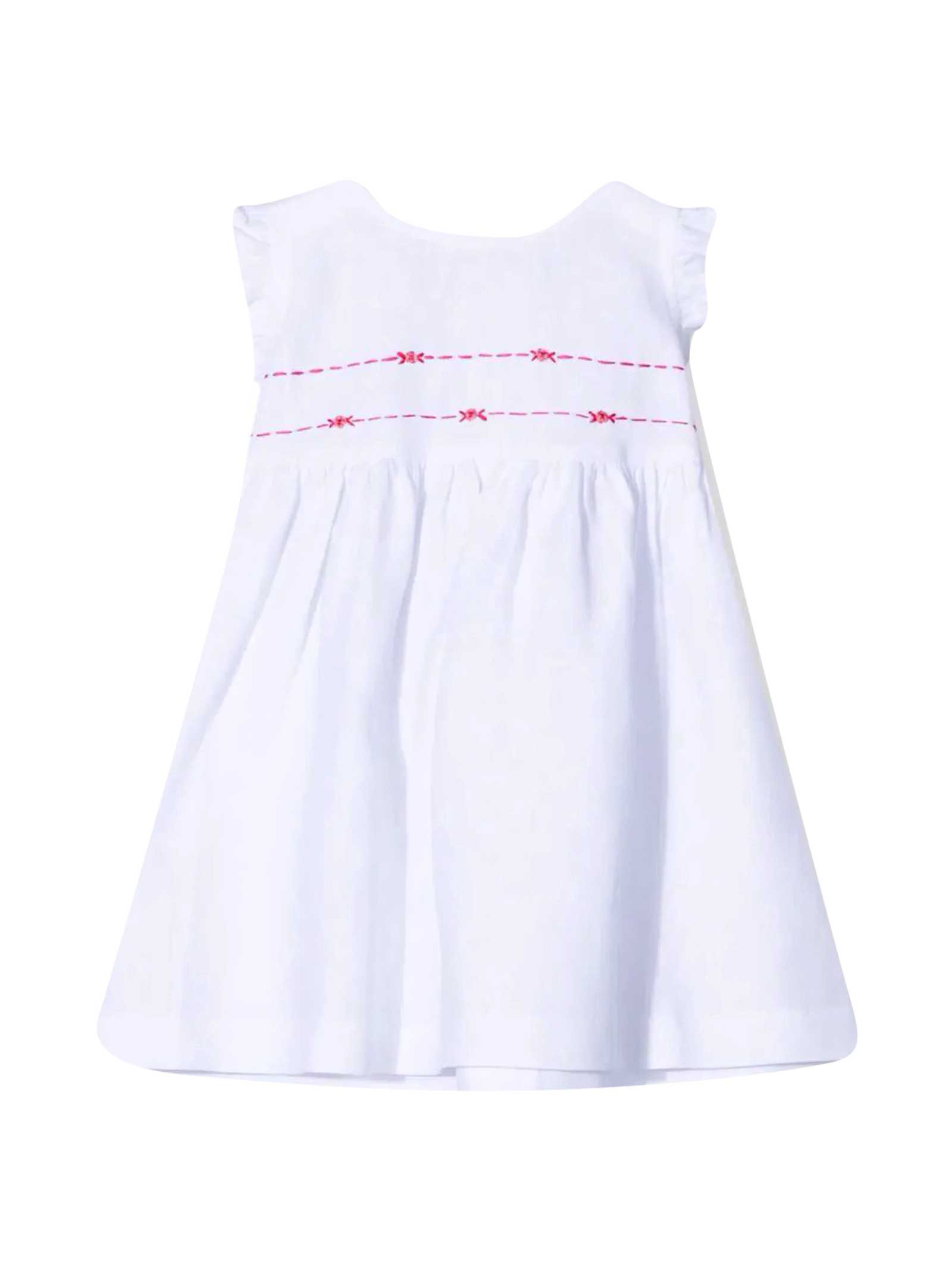 Sleeveless Dress With Embroidery