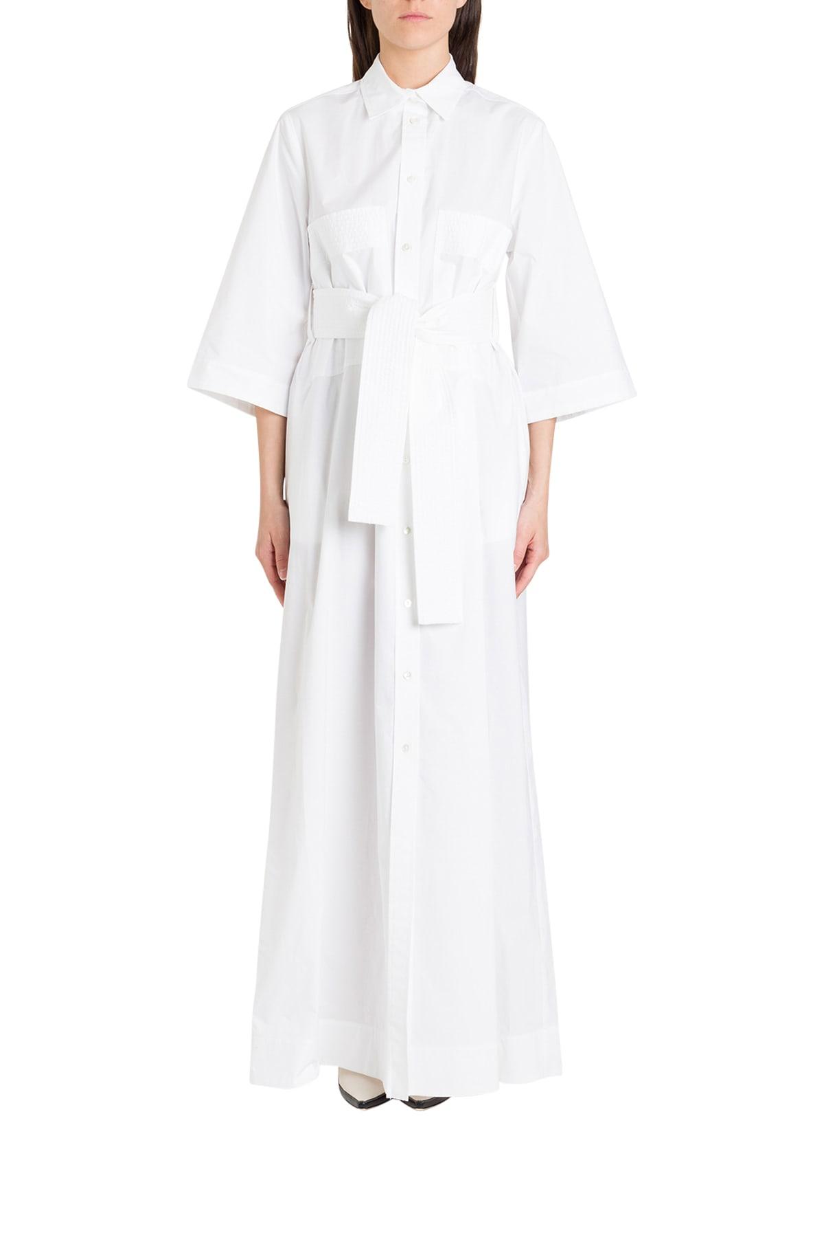 Buy Parosh Pinafore Dress online, shop Parosh with free shipping