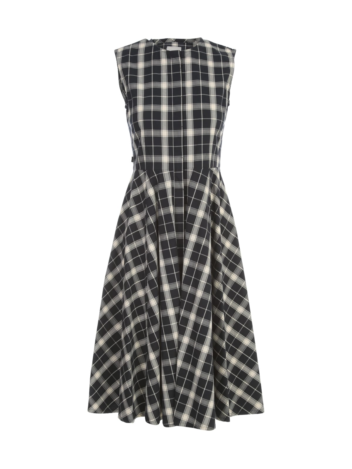 Buy Sleeveless Patterned Long Dress Woolrich online, shop Woolrich with free shipping