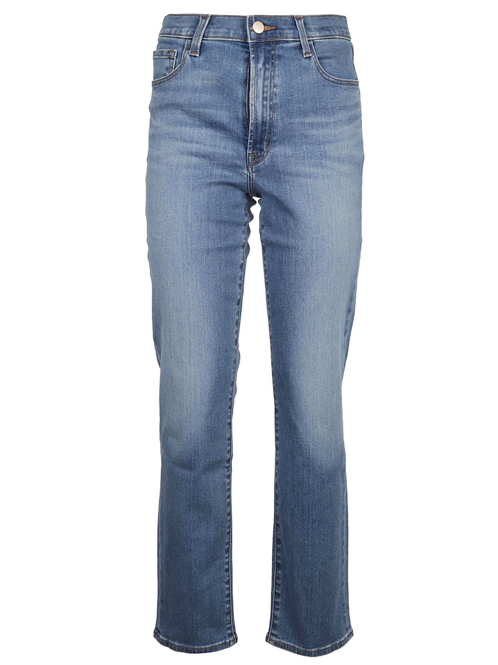J Brand Cottons TEAGAN HIGH RISE SLIM JEANS