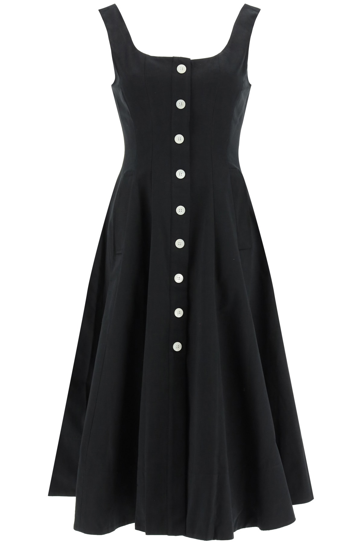 Buy STAUD Loretta Midi Dress online, shop STAUD with free shipping