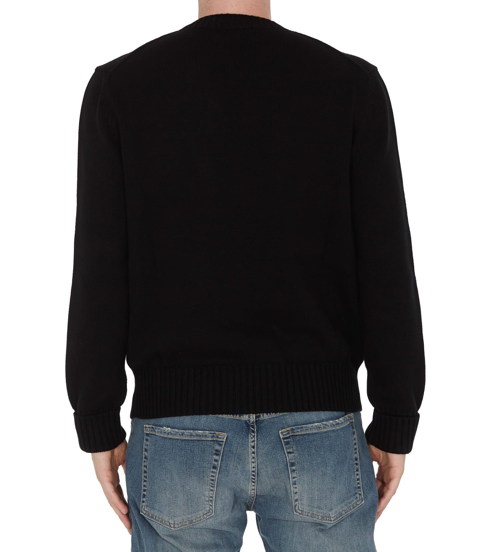 Alexander Mcqueen Logo Sweater