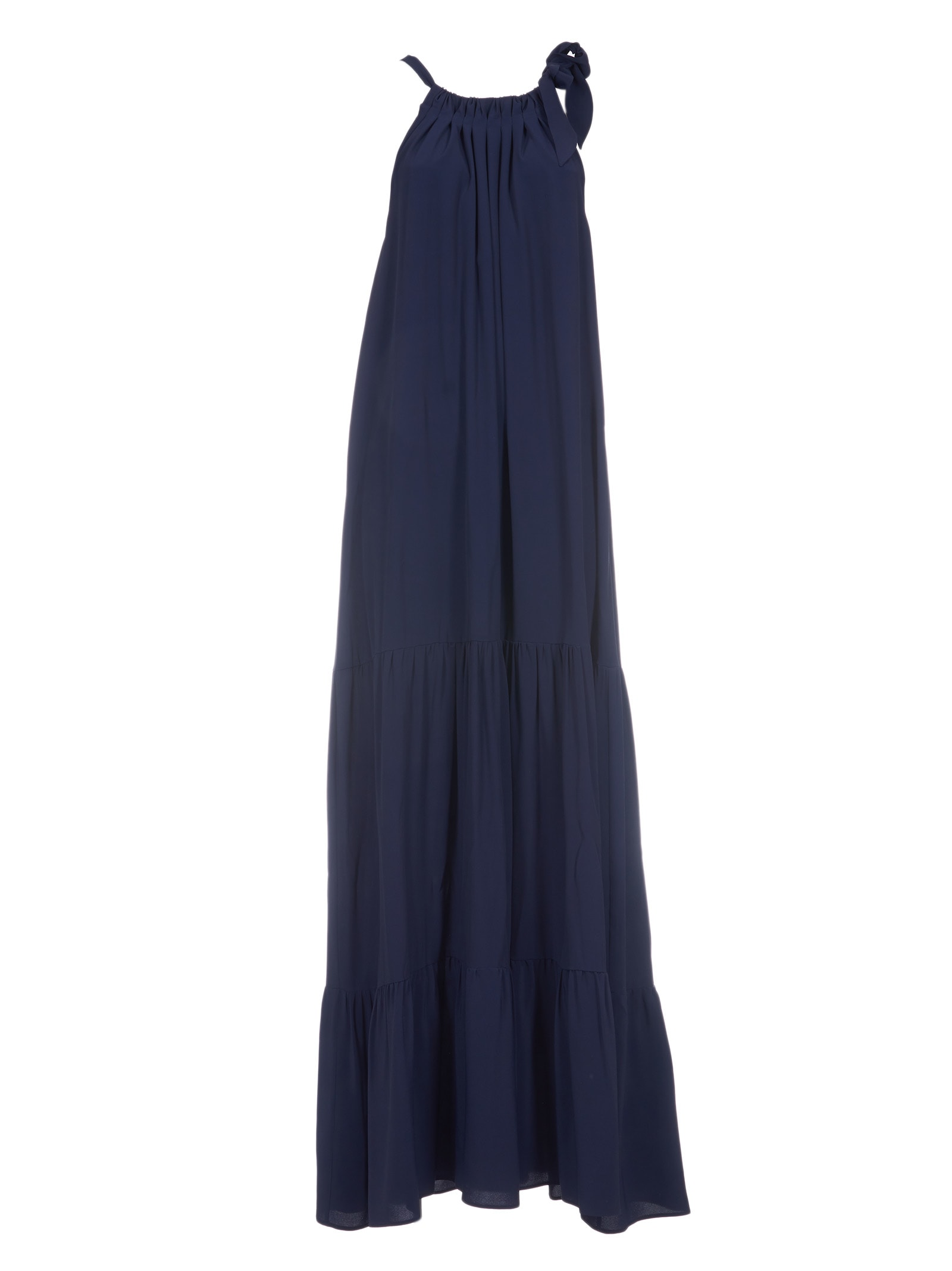 Erika Cavallini Halter-neck Gathered Dress