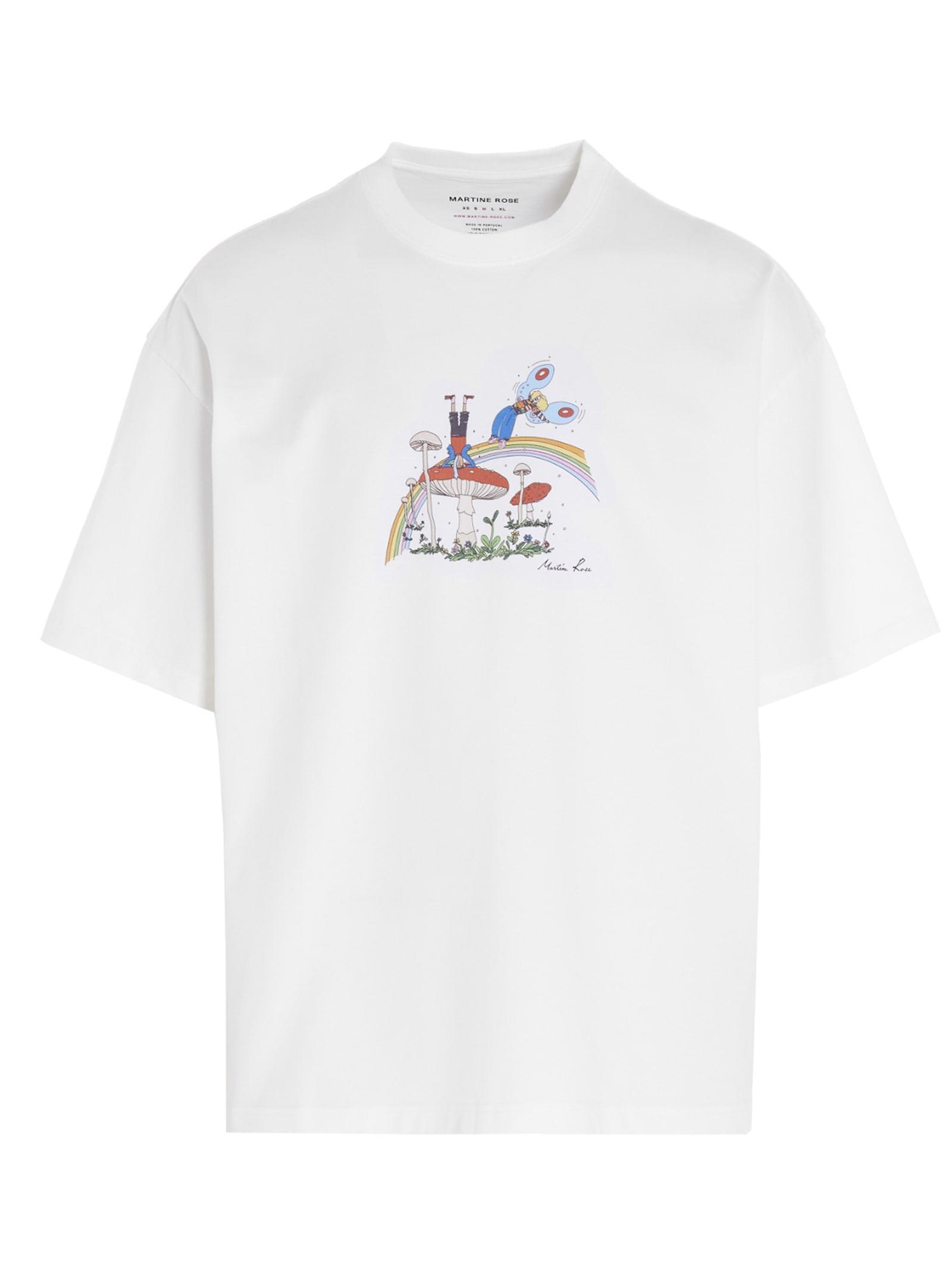 Martine Rose T-shirts BRITTLE T-SHIRT