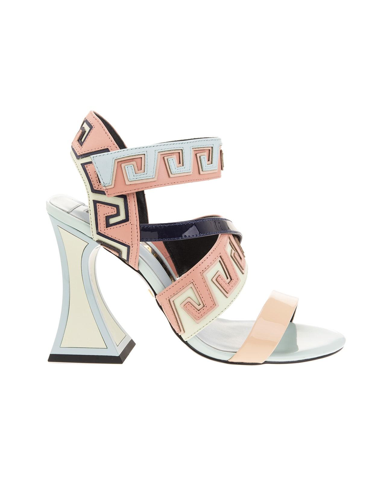 Multi-pastel Esme Sandals