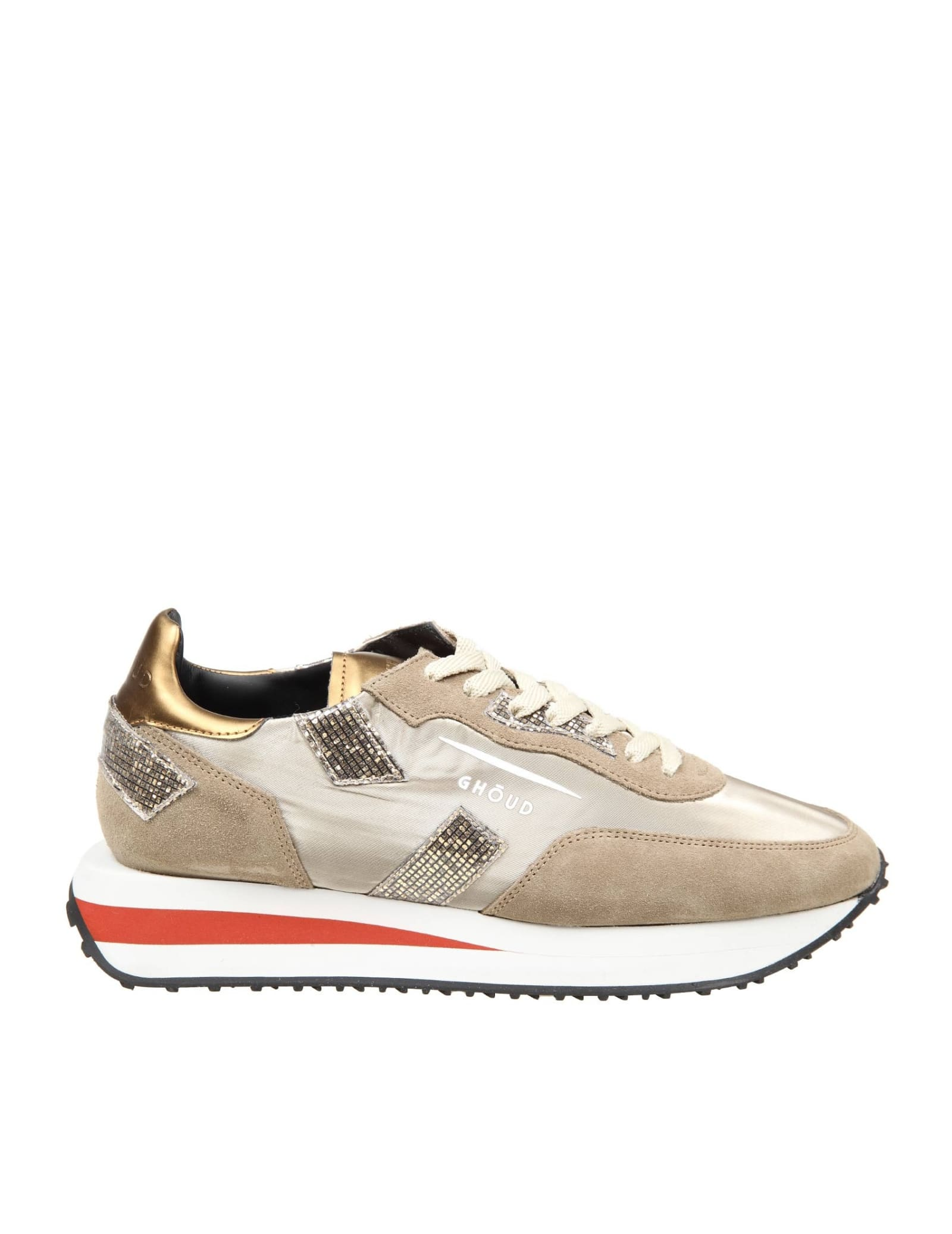 Ghoud GHOUD SNEAKERS RUSH IN SUEDE AND NYLON COLOR SAND