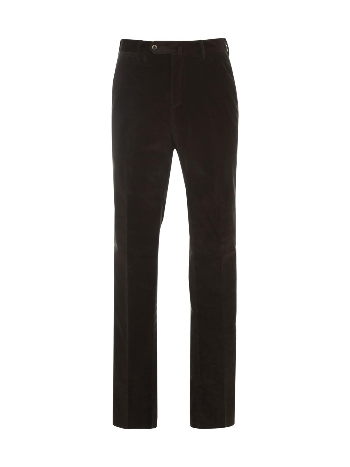 PT01 Velvet Slim Pants