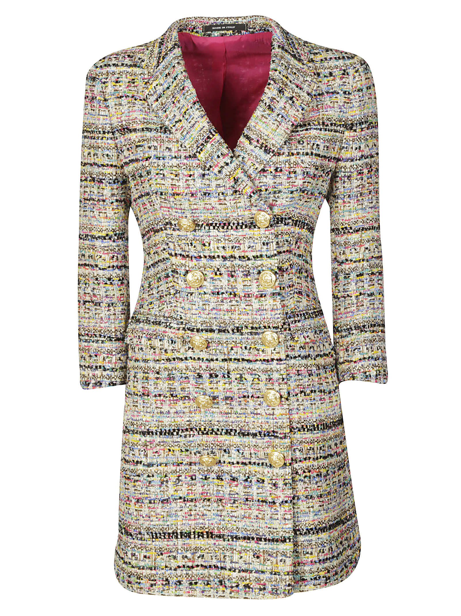 Buy Tagliatore Double-breasted Buttoned Dress online, shop Tagliatore with free shipping