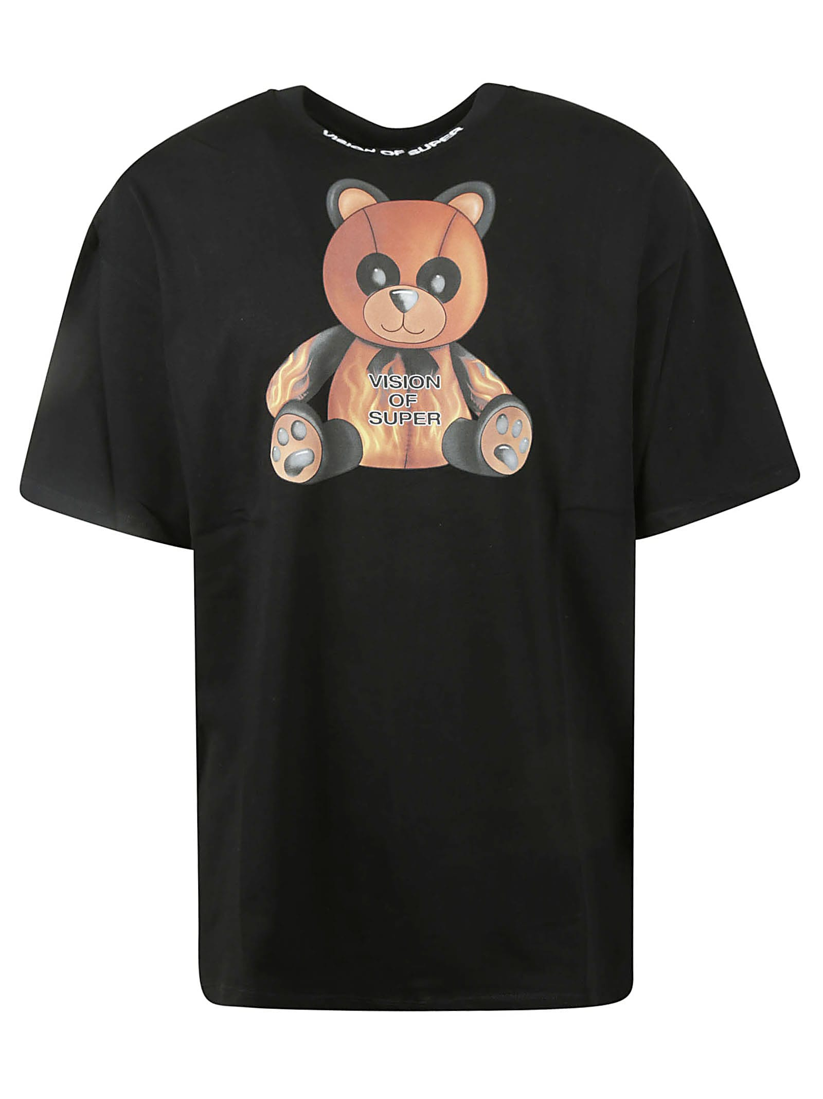 Vision Of Super Pandy T-shirt In Black