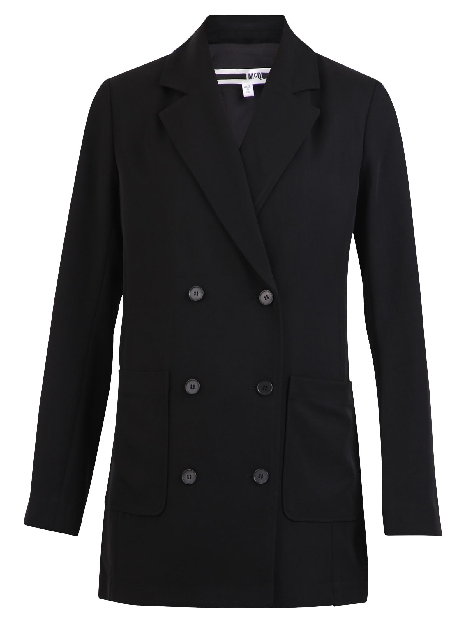 Photo of  McQ Alexander McQueen Double-breasted Blazer- shop McQ Alexander McQueen jackets online sales