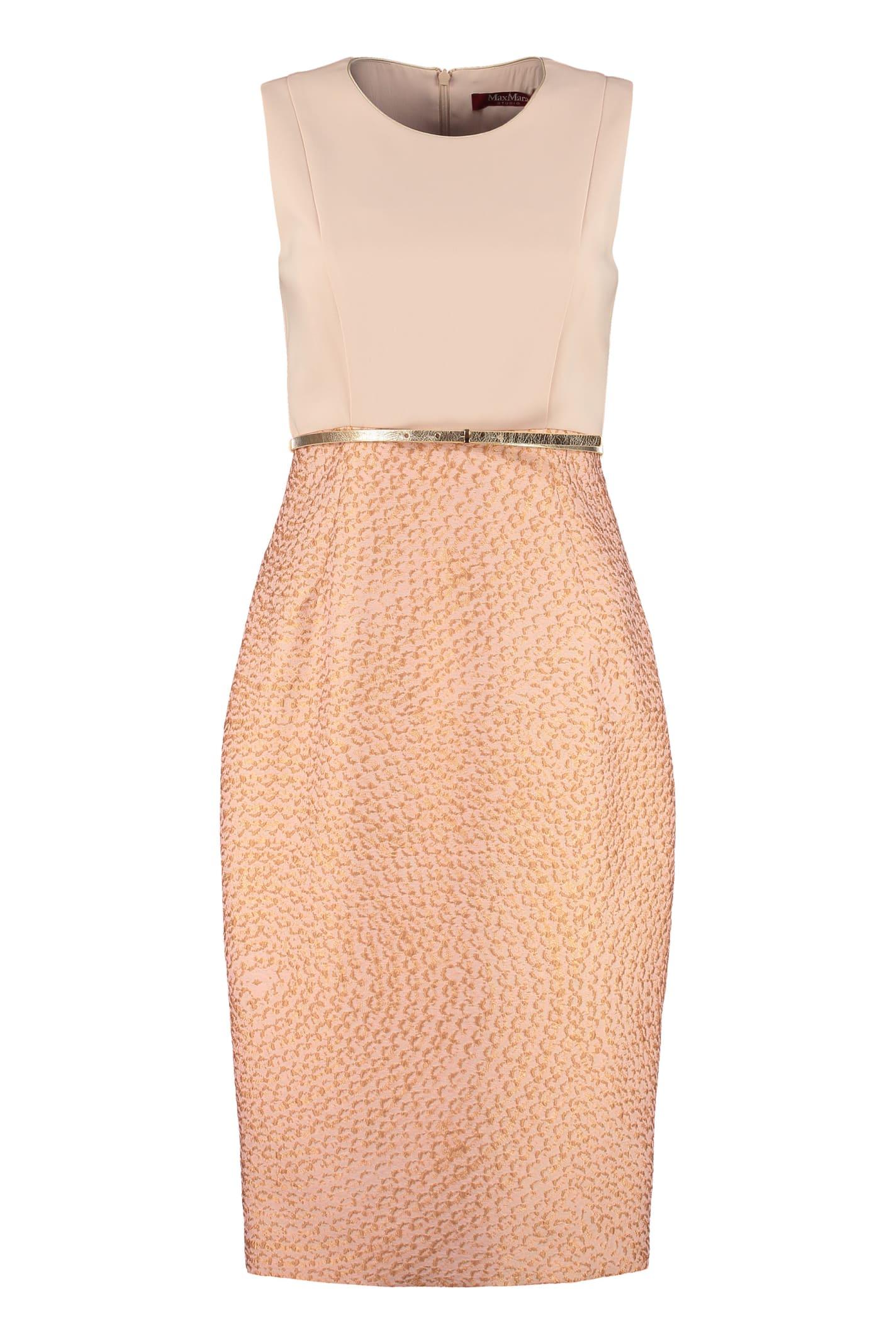 Buy Max Mara Studio Aguzze Sheath Dress online, shop Max Mara Studio with free shipping
