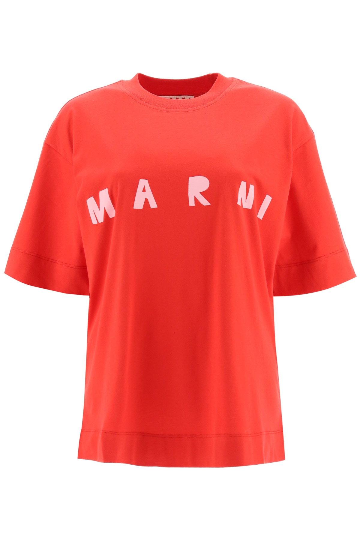 Marni OVERSIZED T-SHIRT WITH LOGO