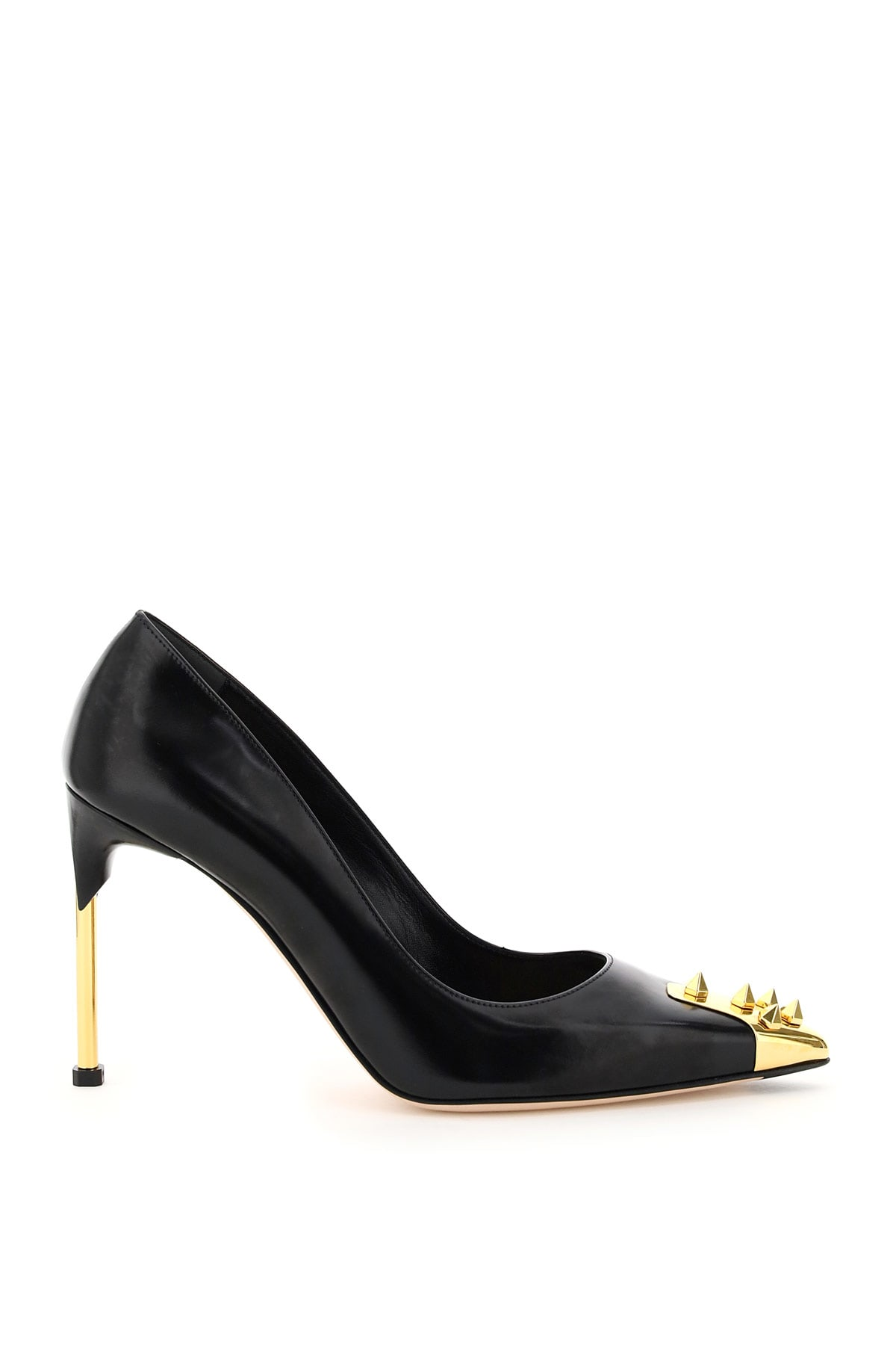 Alexander Mcqueen Leathers LEATHER PUMPS WITH STUDS