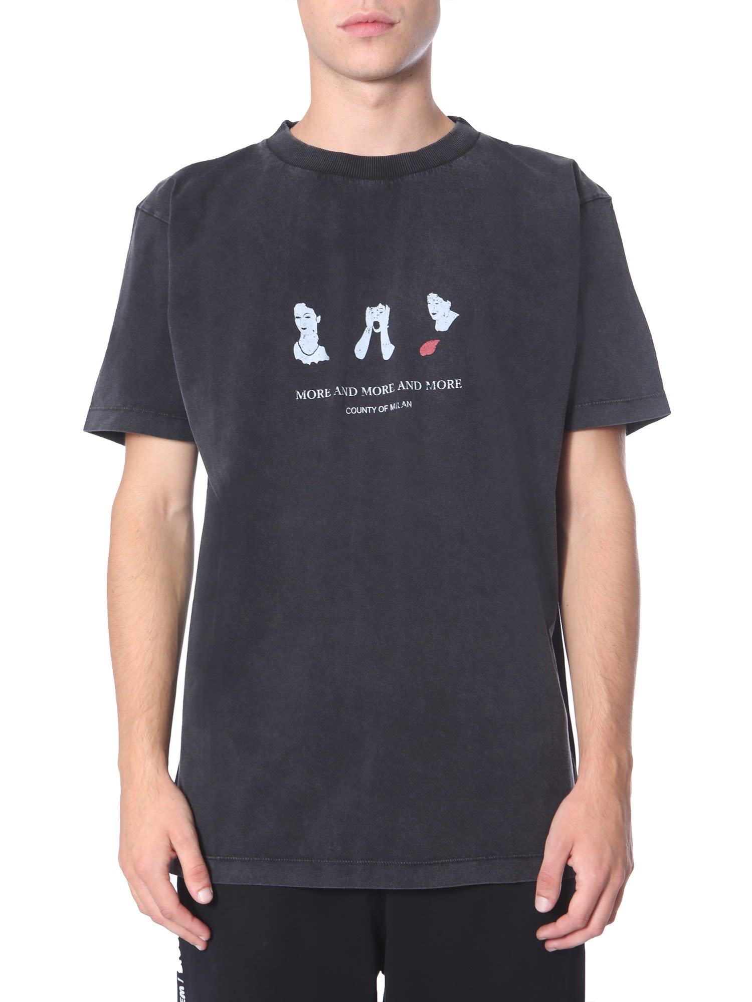 Marcelo Burlon Round Neck T-shirt
