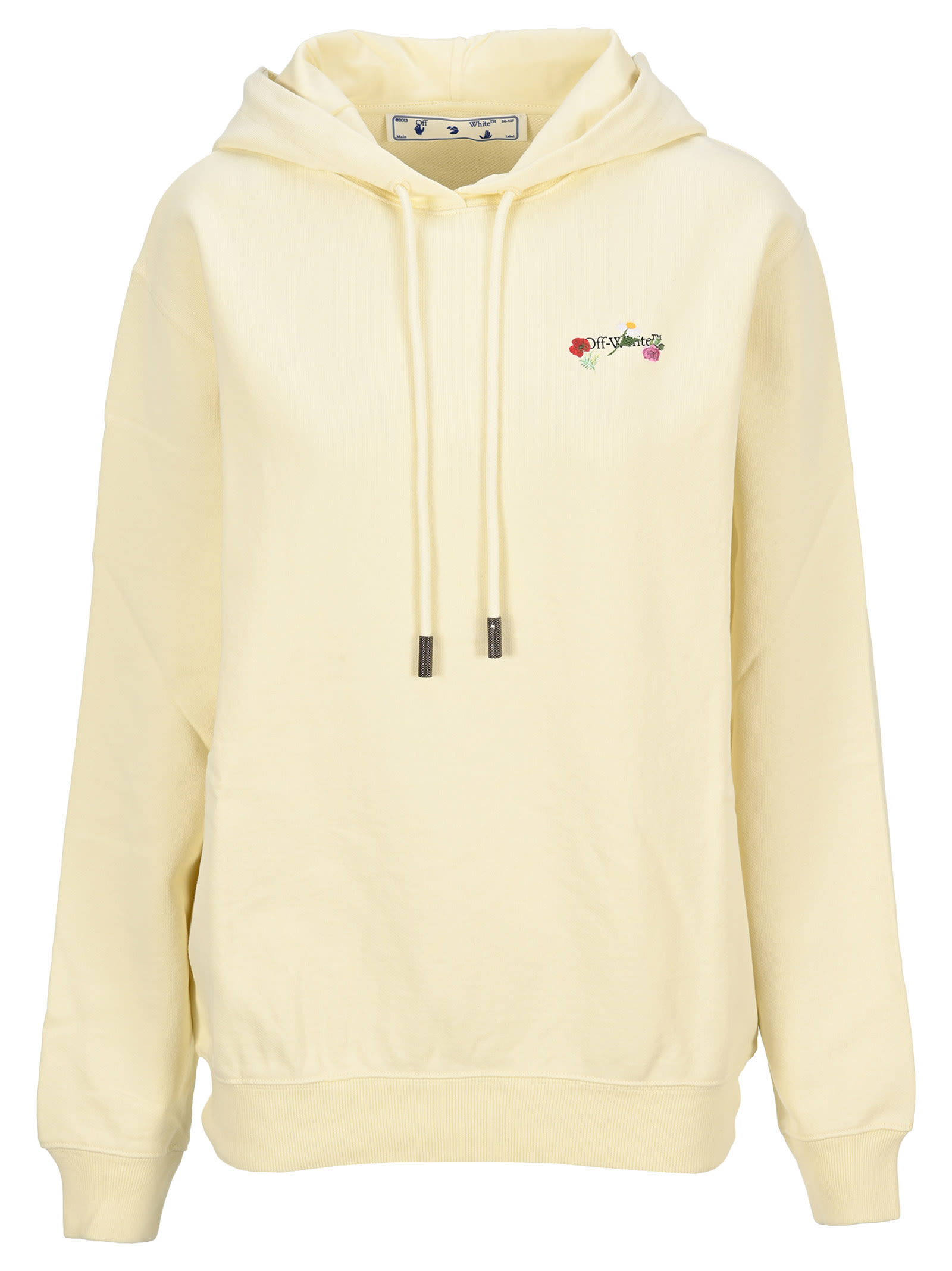 Off-White OFF WHITE FLOWERS ARROWS HOODIE