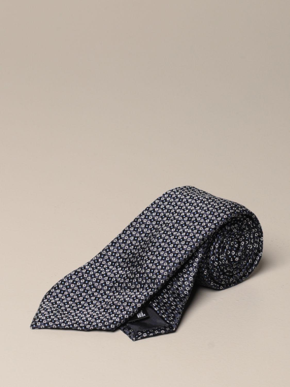 Emporio Armani Tie Emporio Armani Tie In Patterned Silk