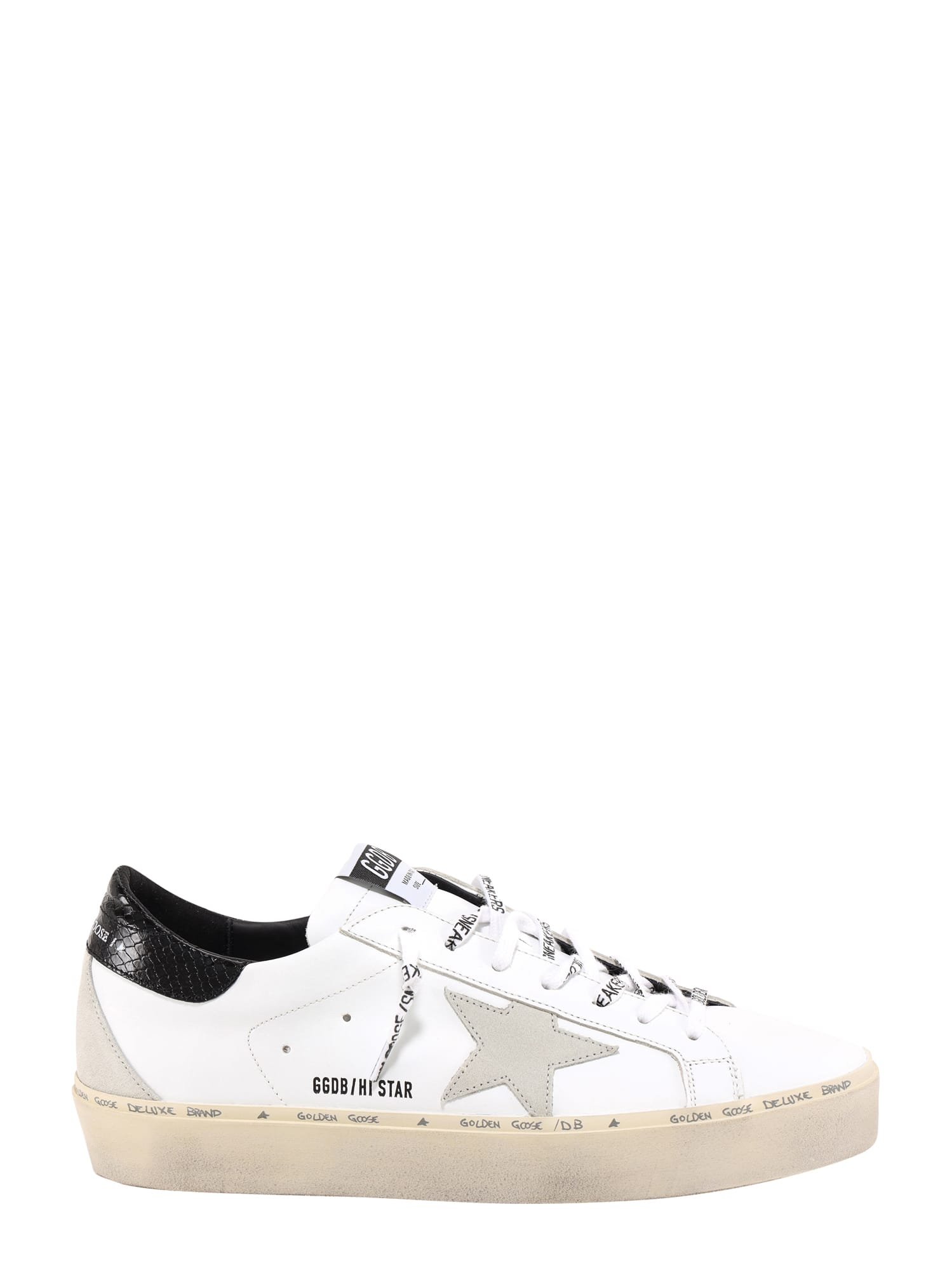 Golden Goose Leathers HI STAR SNEAKERS
