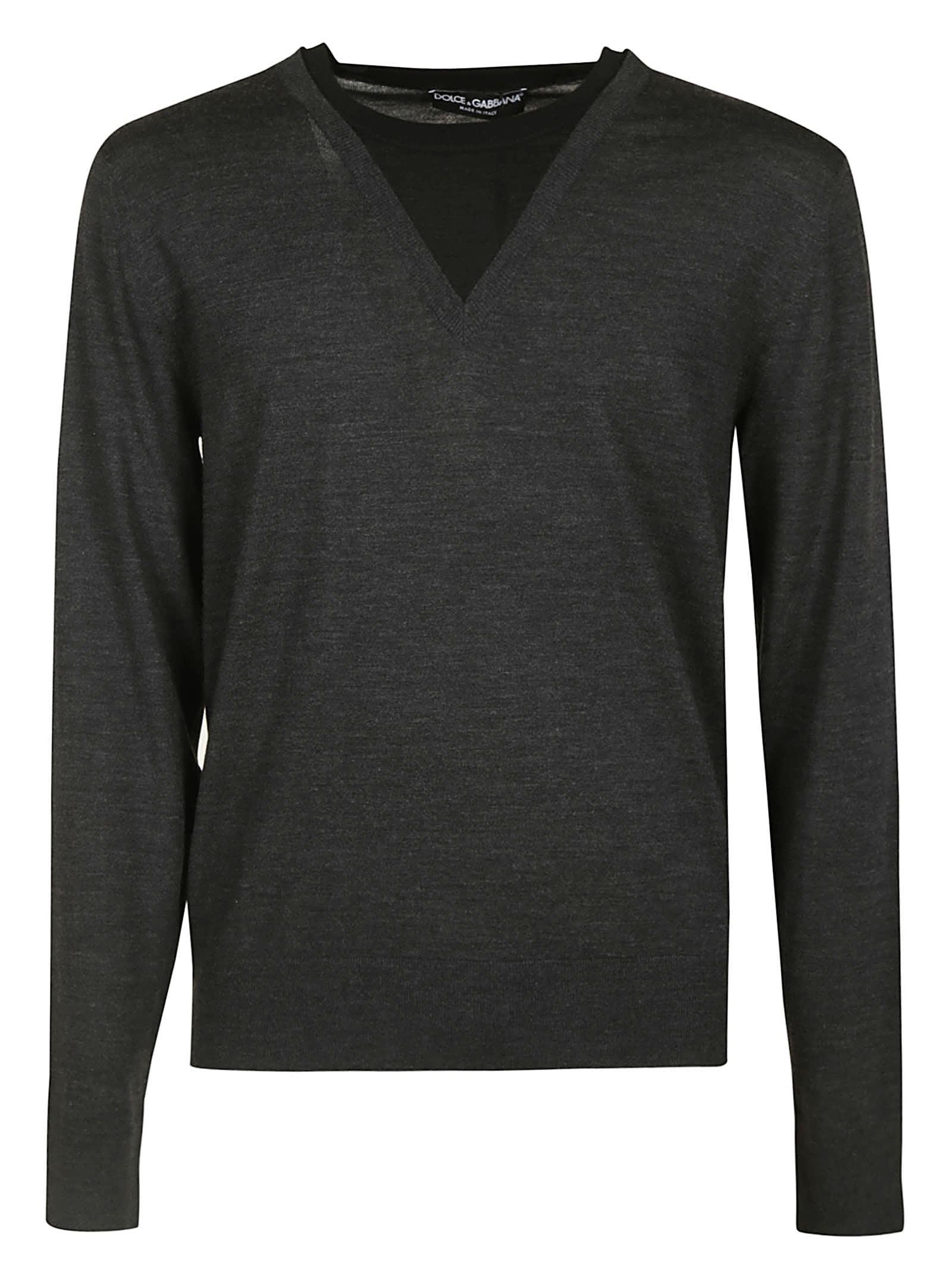 Dolce & Gabbana Classic V-neck Sweater