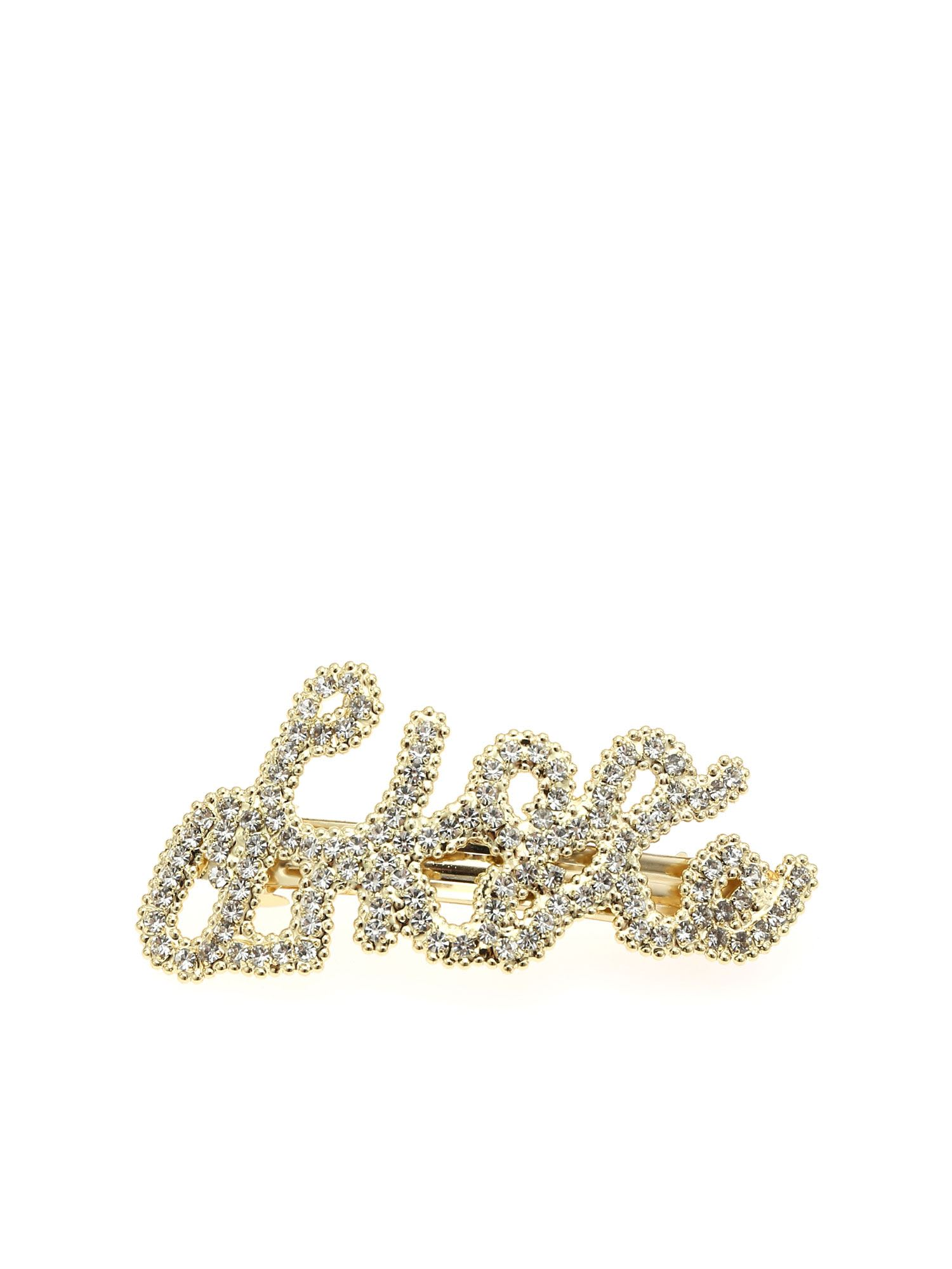 Ciao Amore Clip With Rhinestones