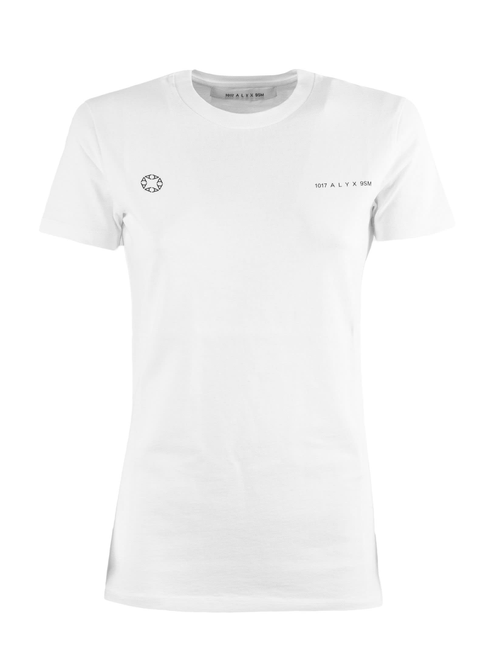 Alyx WHITE COTTON T-SHIRT