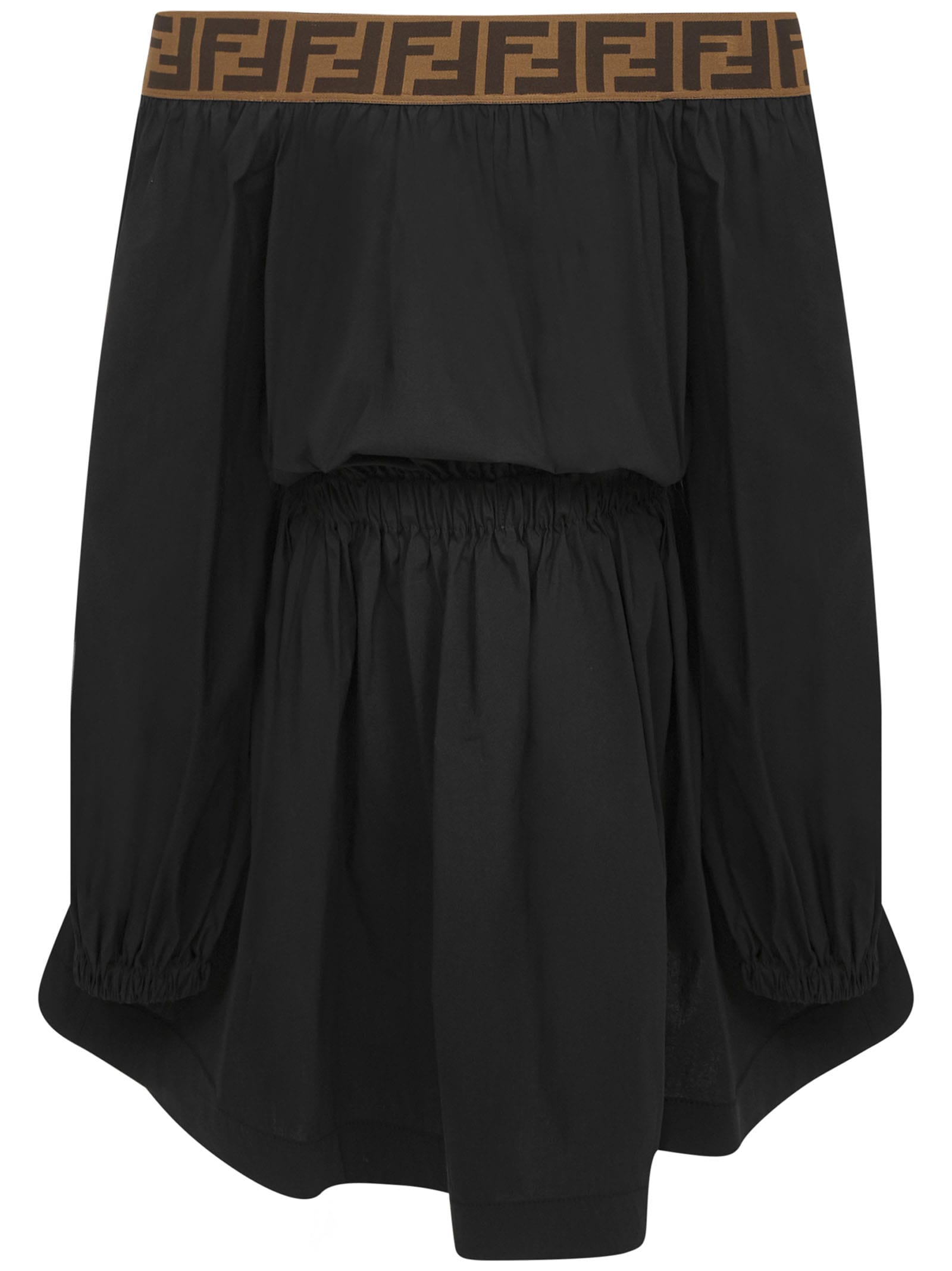 Buy Fendi Kids Dress online, shop Fendi with free shipping