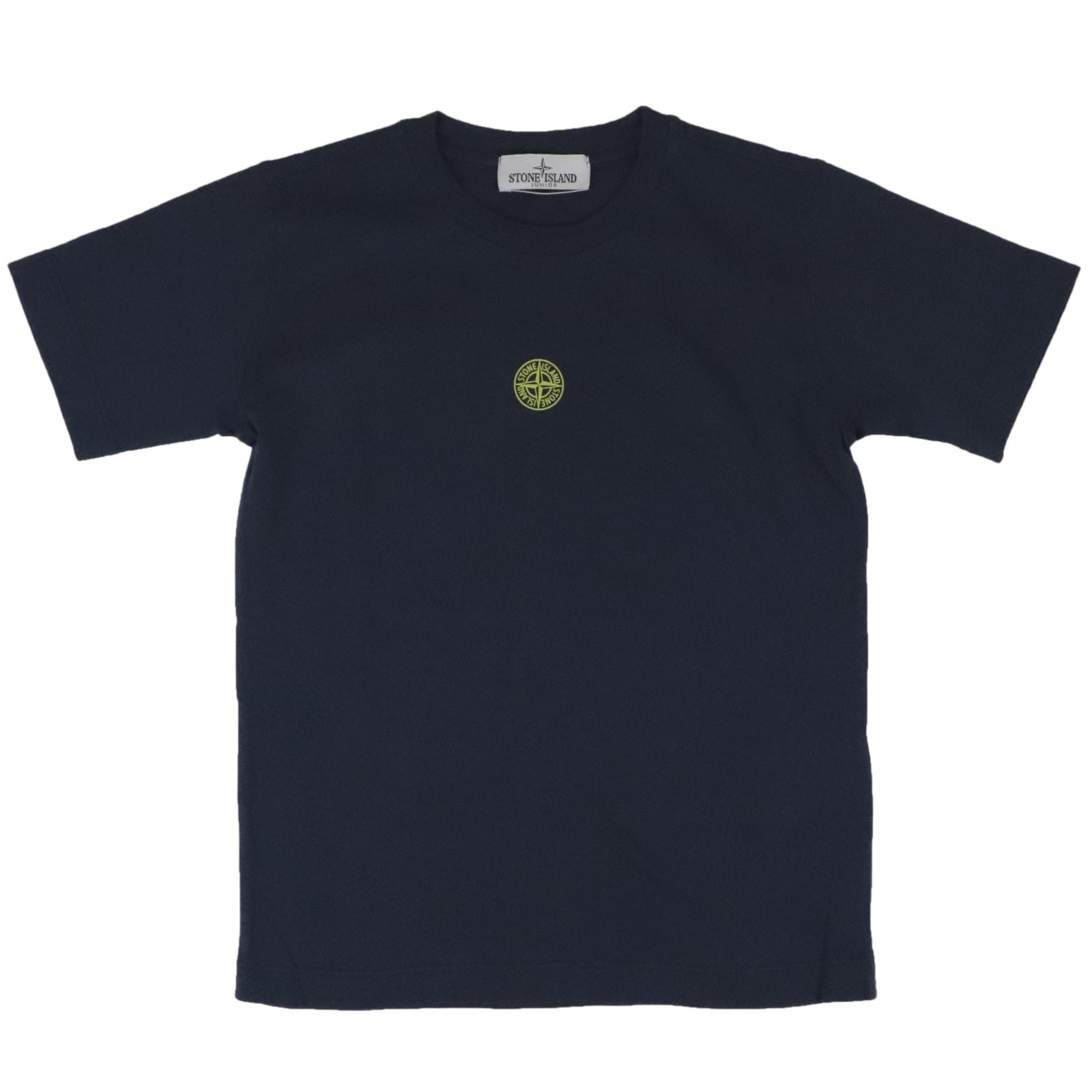 Stone Island Junior T-shirts COTTON T-SHIRT